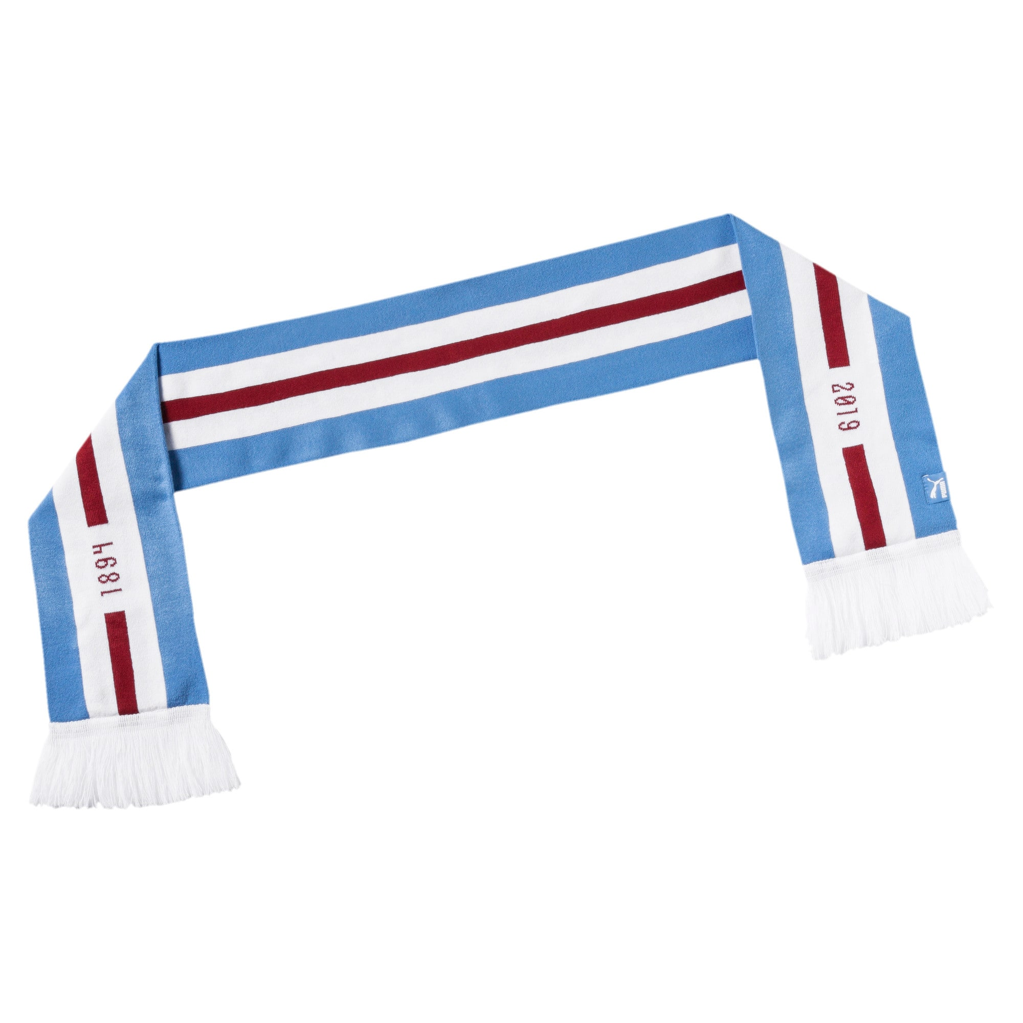 Thumbnail 2 of Man City 125th Anniversary Fan Scarf, Team Light Blue-Puma White, medium