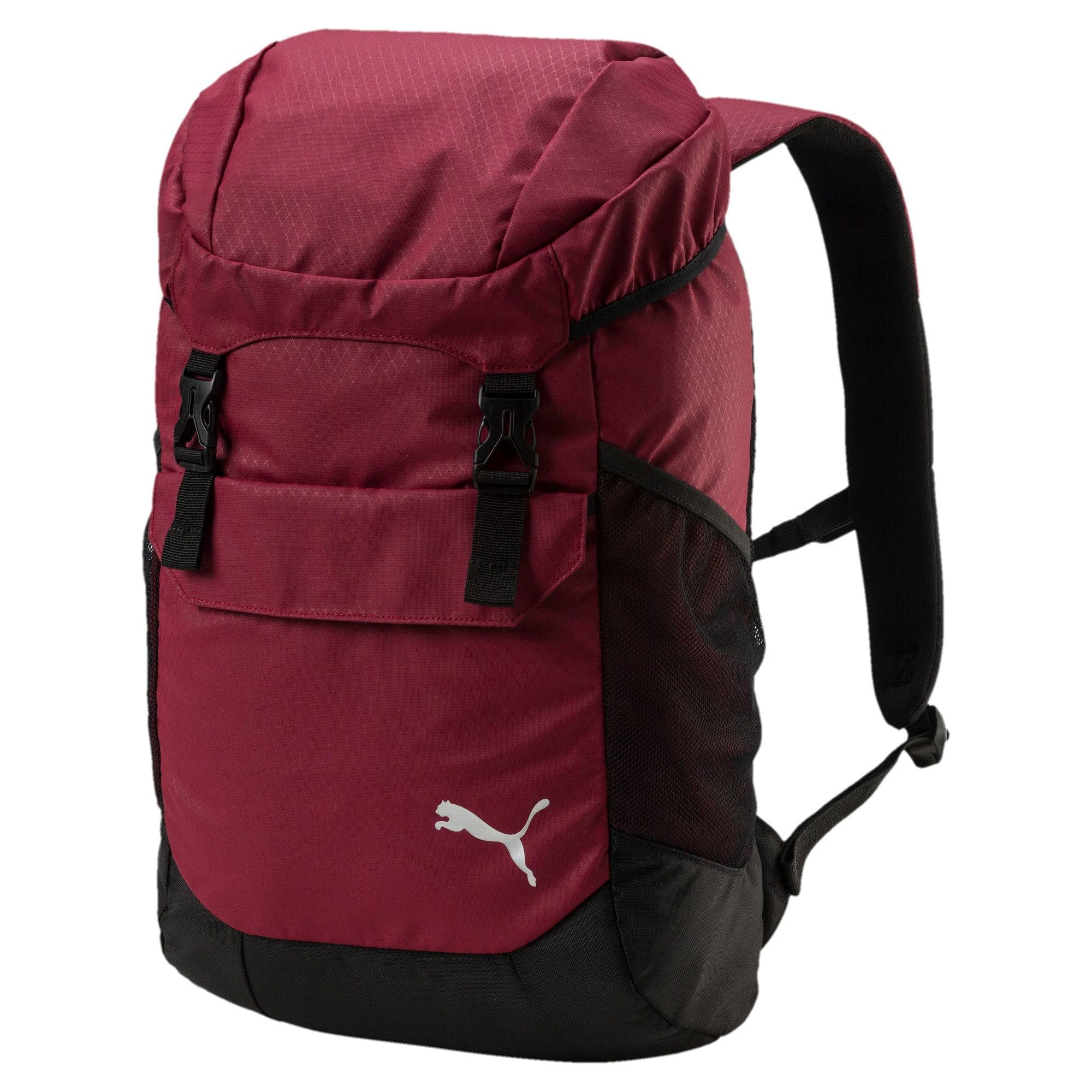 Thumbnail 1 of Training Daily Backpack, Pomegranate-Puma Black, medium