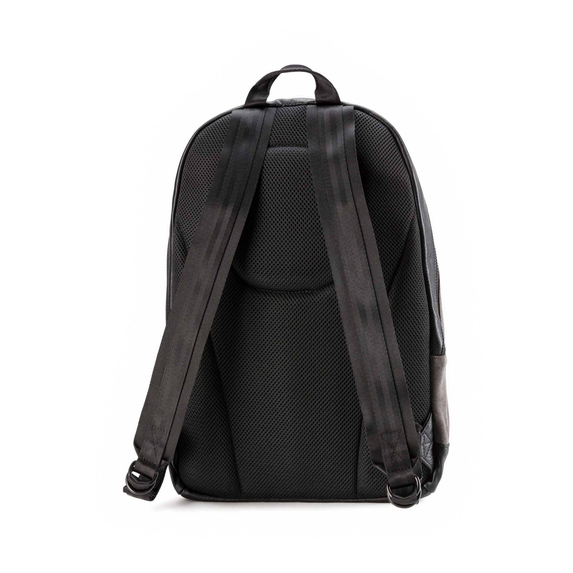 Thumbnail 2 of Suede Lux Backpack, Dark Shadow-Puma Black, medium