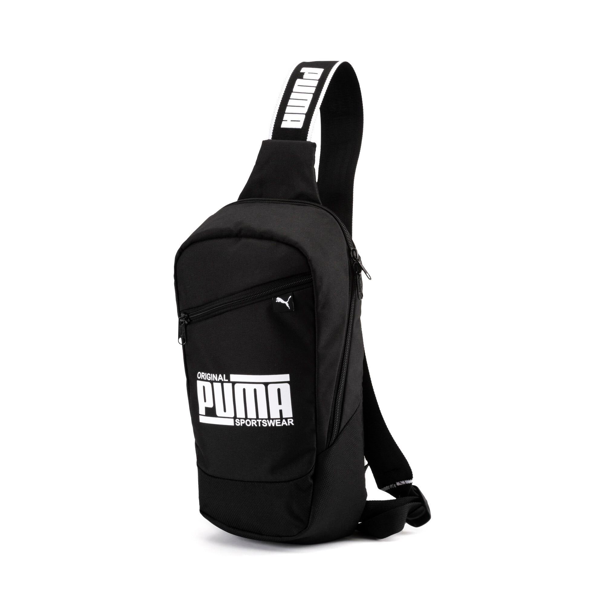 Thumbnail 1 of PUMA Sole Cross Body Bag, Puma Black, medium