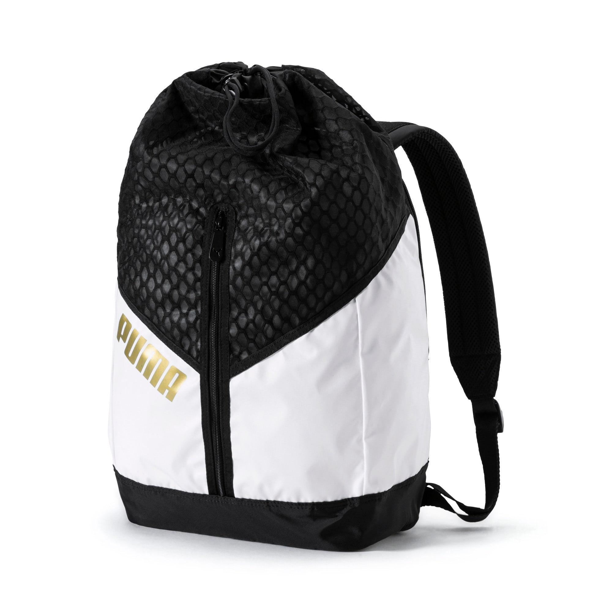 Thumbnail 1 of Ambition Gold Women's Backpack, Puma White-Puma Black, medium