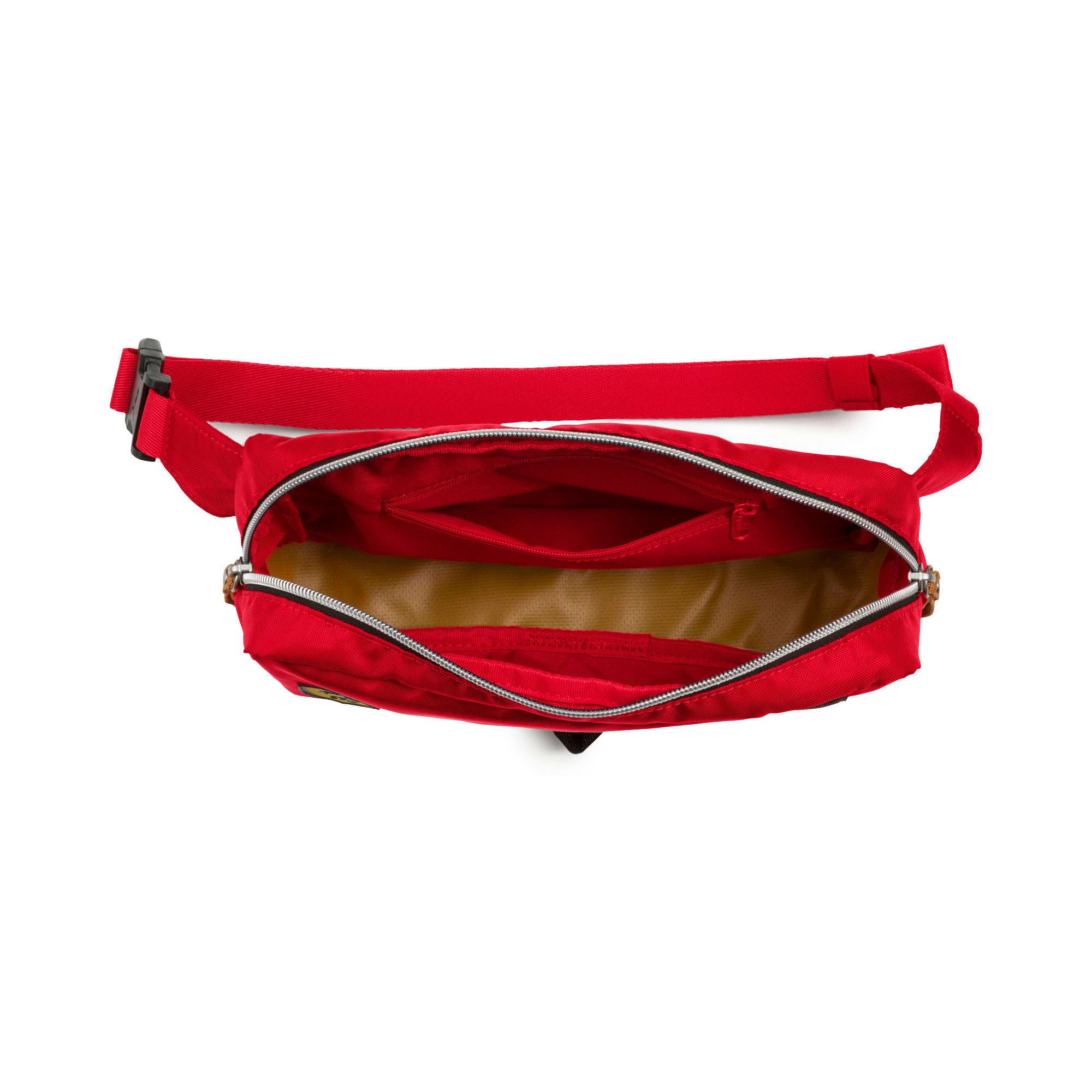 Thumbnail 3 of Scuderia Ferrari Fanwear Waist Bag, rosso corsa-Puma Black, medium