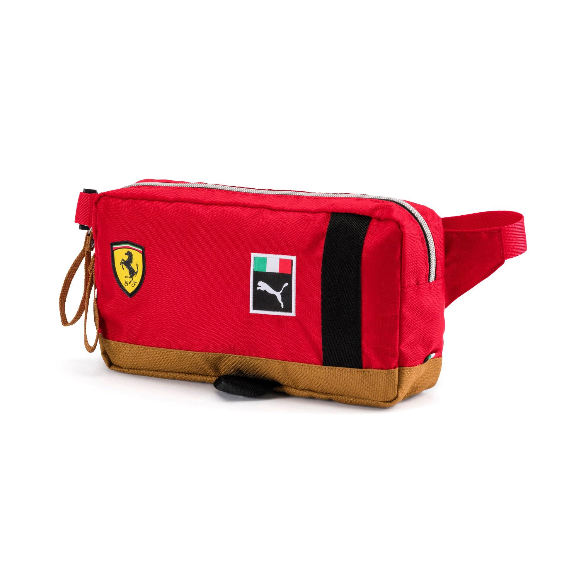 Thumbnail 1 of Scuderia Ferrari Fanwear Waist Bag, rosso corsa-Puma Black, medium