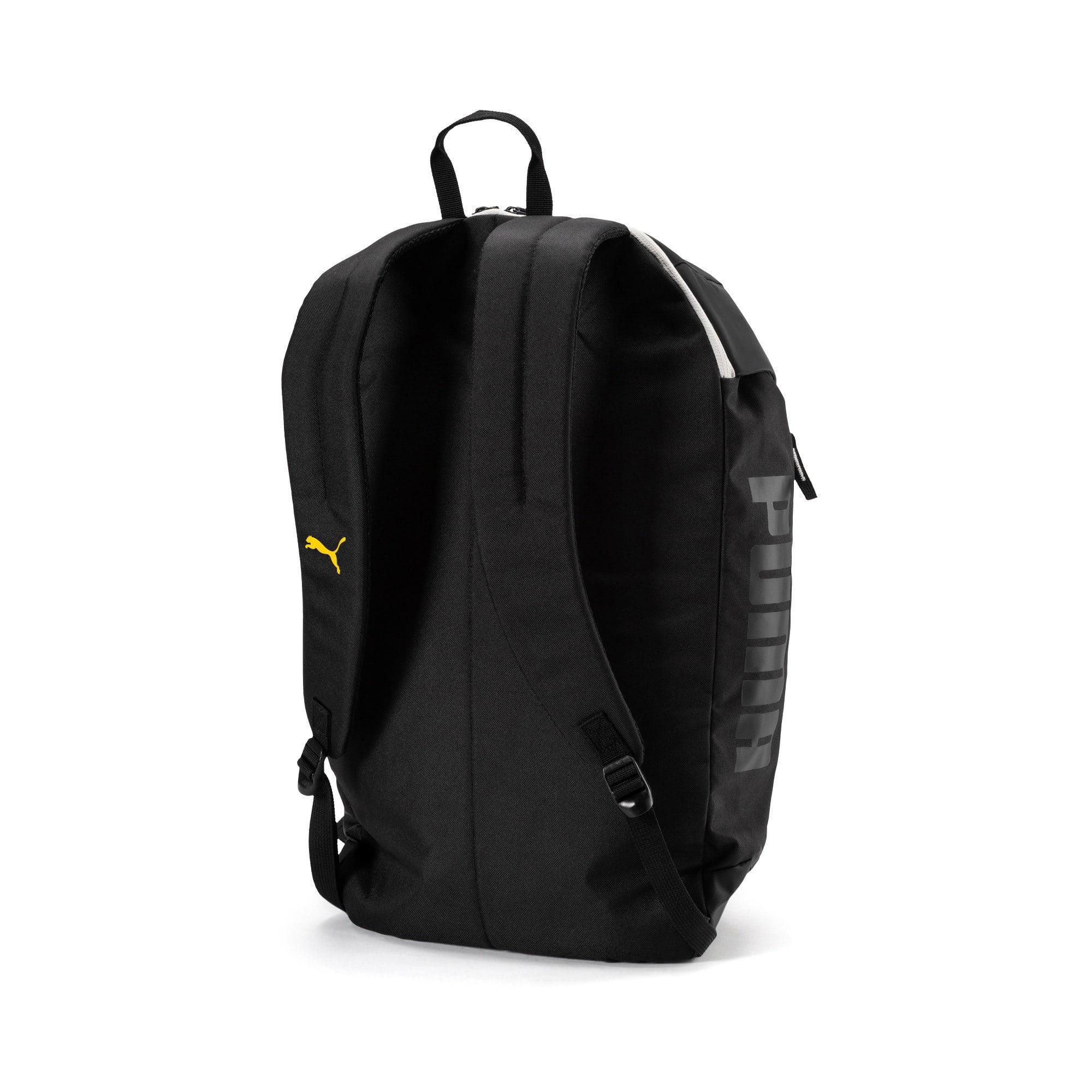 Thumbnail 2 of BVB 365 Backpack, Puma Black-Cyber Yellow, medium-IND