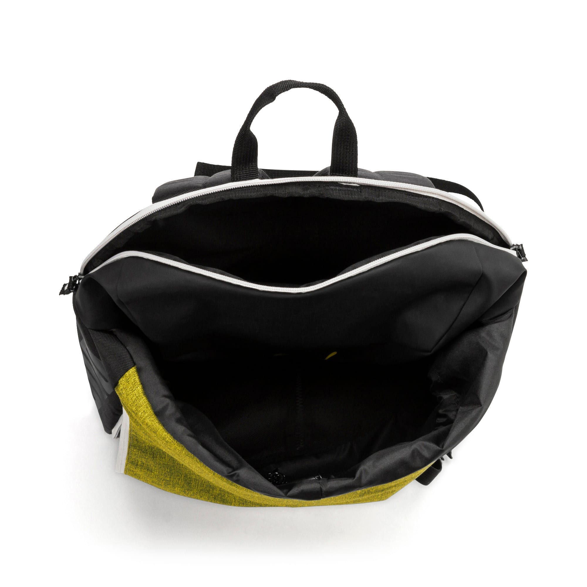 Thumbnail 3 of BVB 365 Backpack, Puma Black-Cyber Yellow, medium-IND