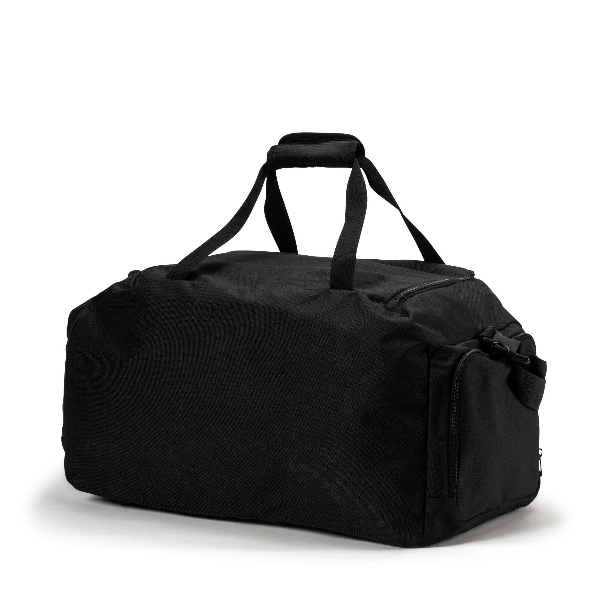 Thumbnail 2 of Olympique de Marseille LIGA Medium Bag, AZURE BLUE-Puma Black, medium