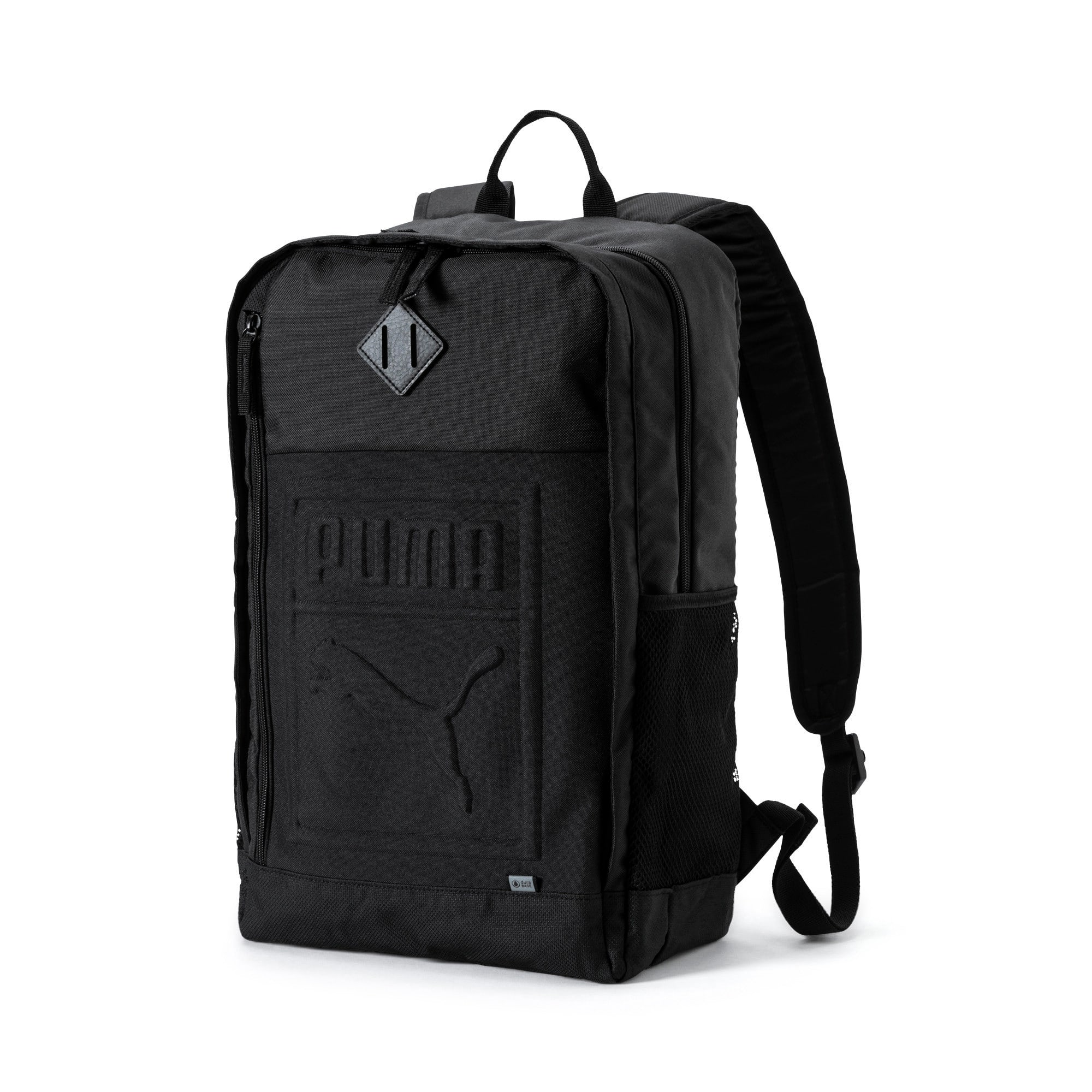 Thumbnail 1 of Square Backpack, Puma Black, medium