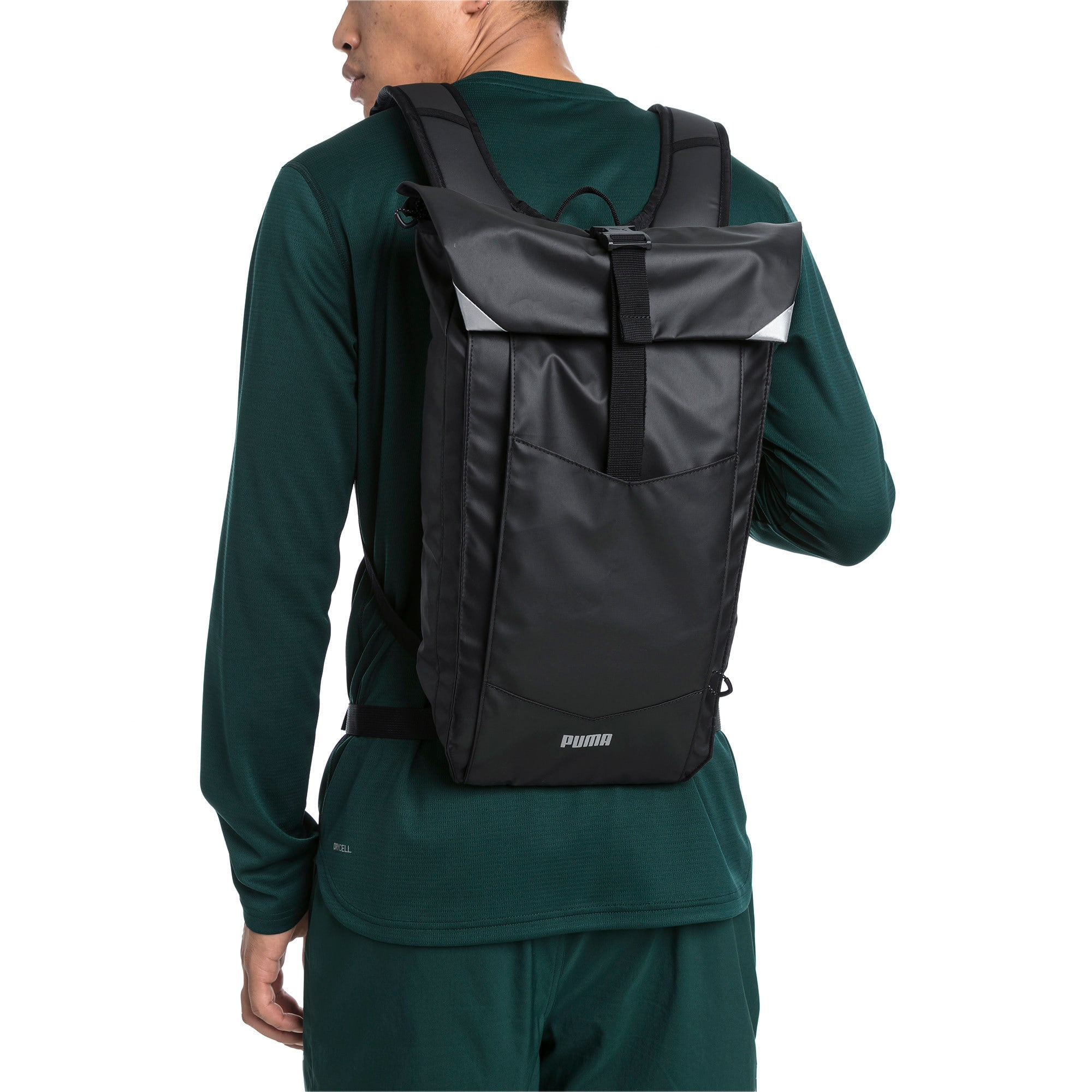 Thumbnail 2 of Street Running Backpack, Puma Black, medium