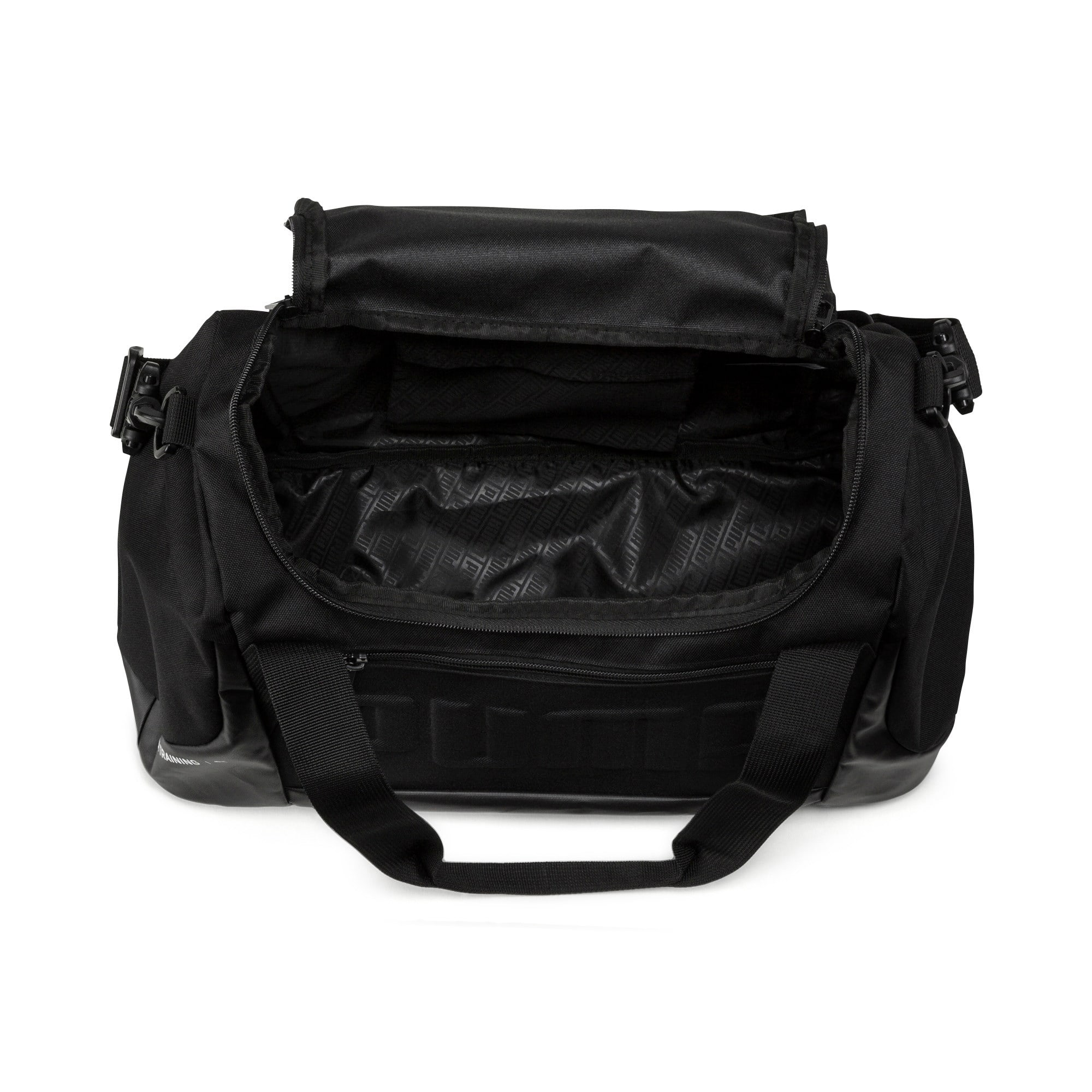 Thumbnail 3 of Gym Duffel Bag, Puma Black, medium