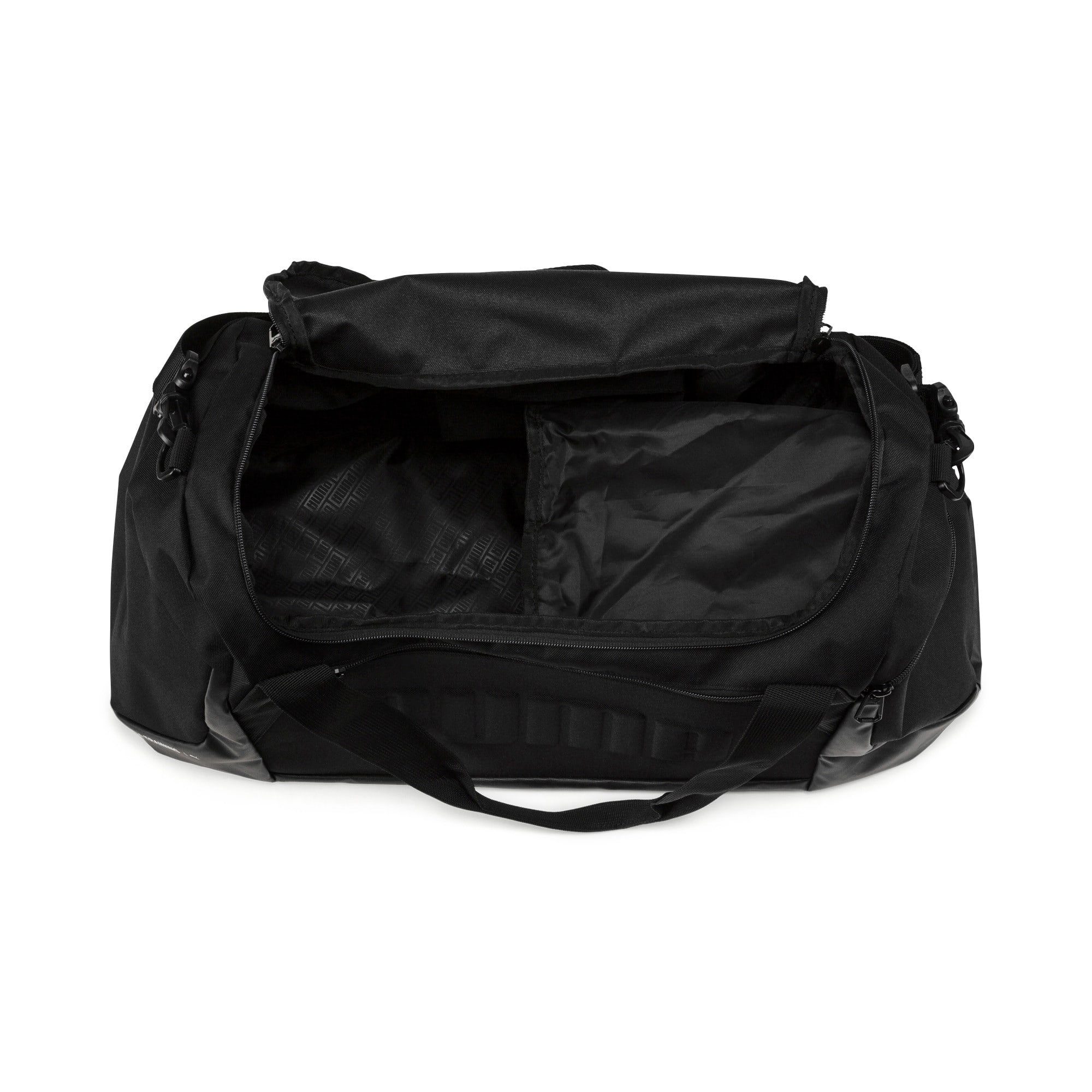 Thumbnail 4 of GYM Duffel Bag, Puma Black, medium
