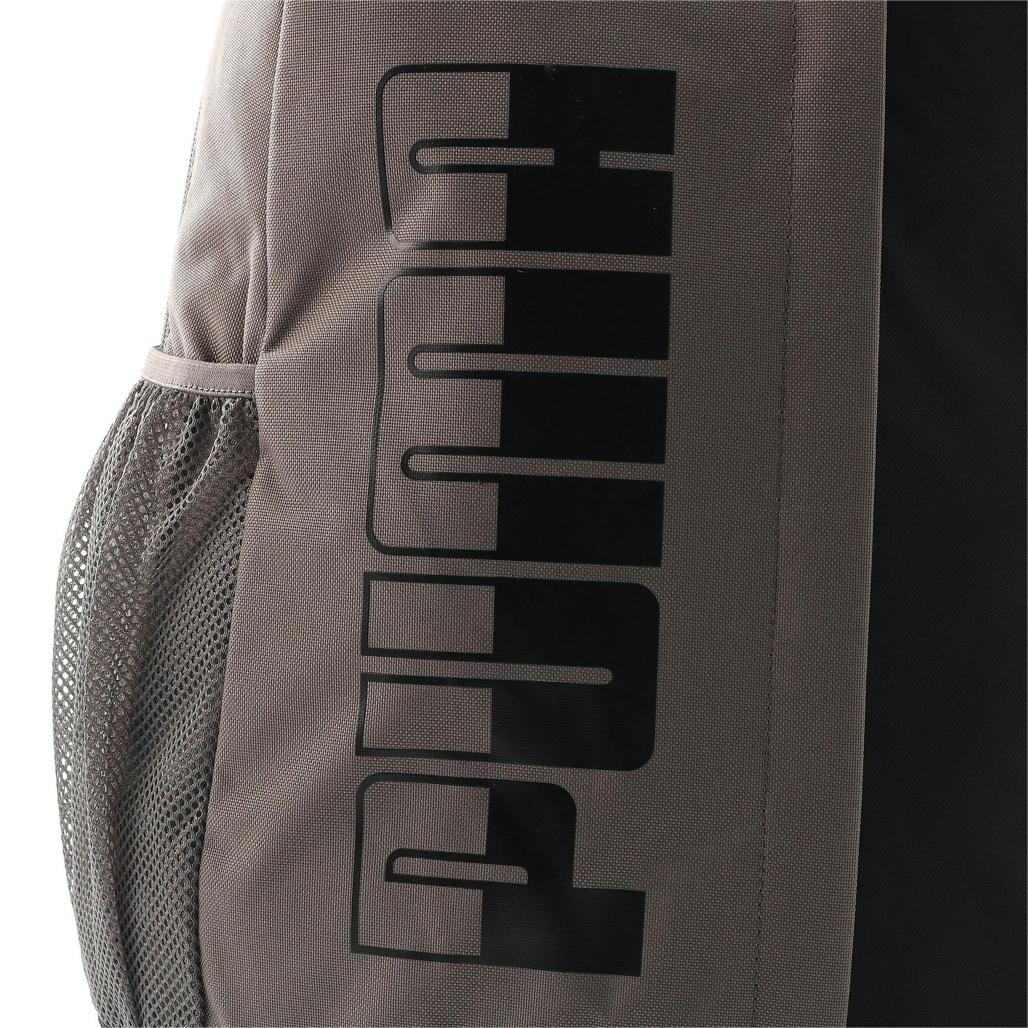Thumbnail 5 of プーマ プラス バックパック II, Charcoal Gray-Puma Black, medium-JPN