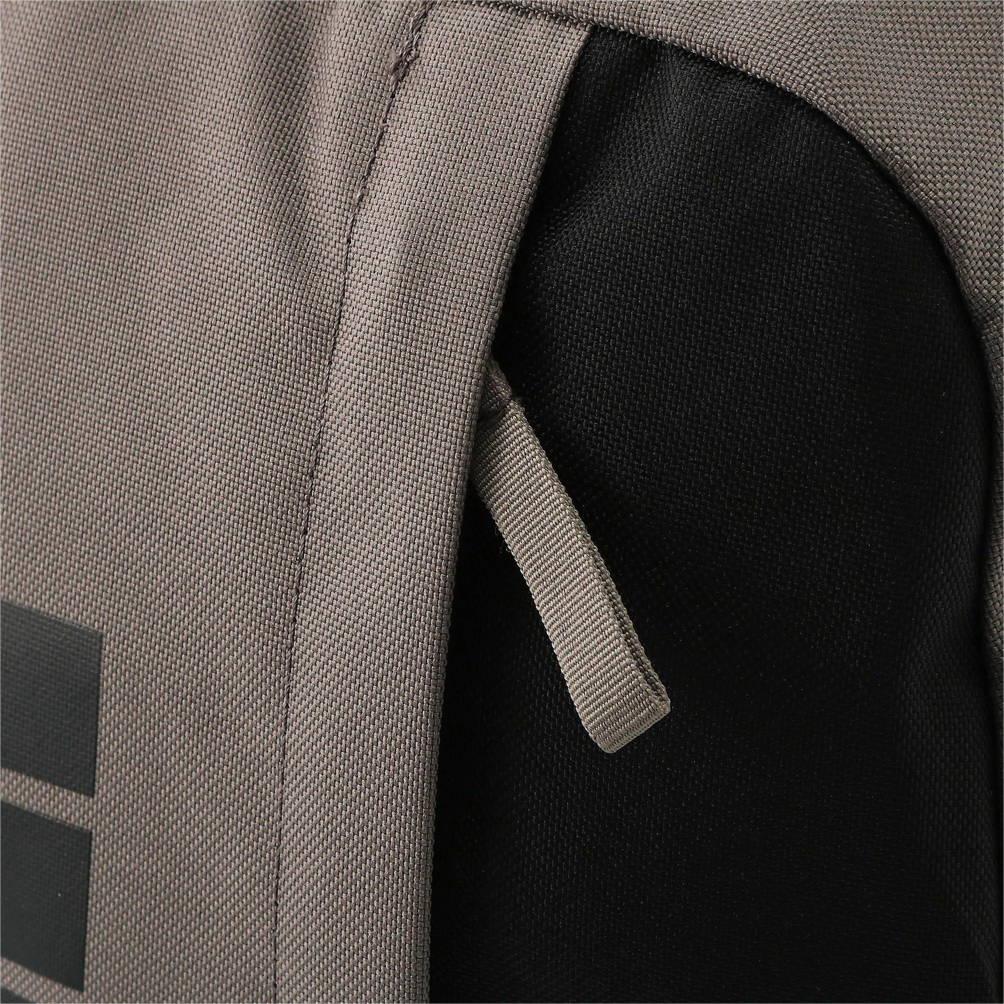 Thumbnail 8 of プーマ プラス バックパック II, Charcoal Gray-Puma Black, medium-JPN