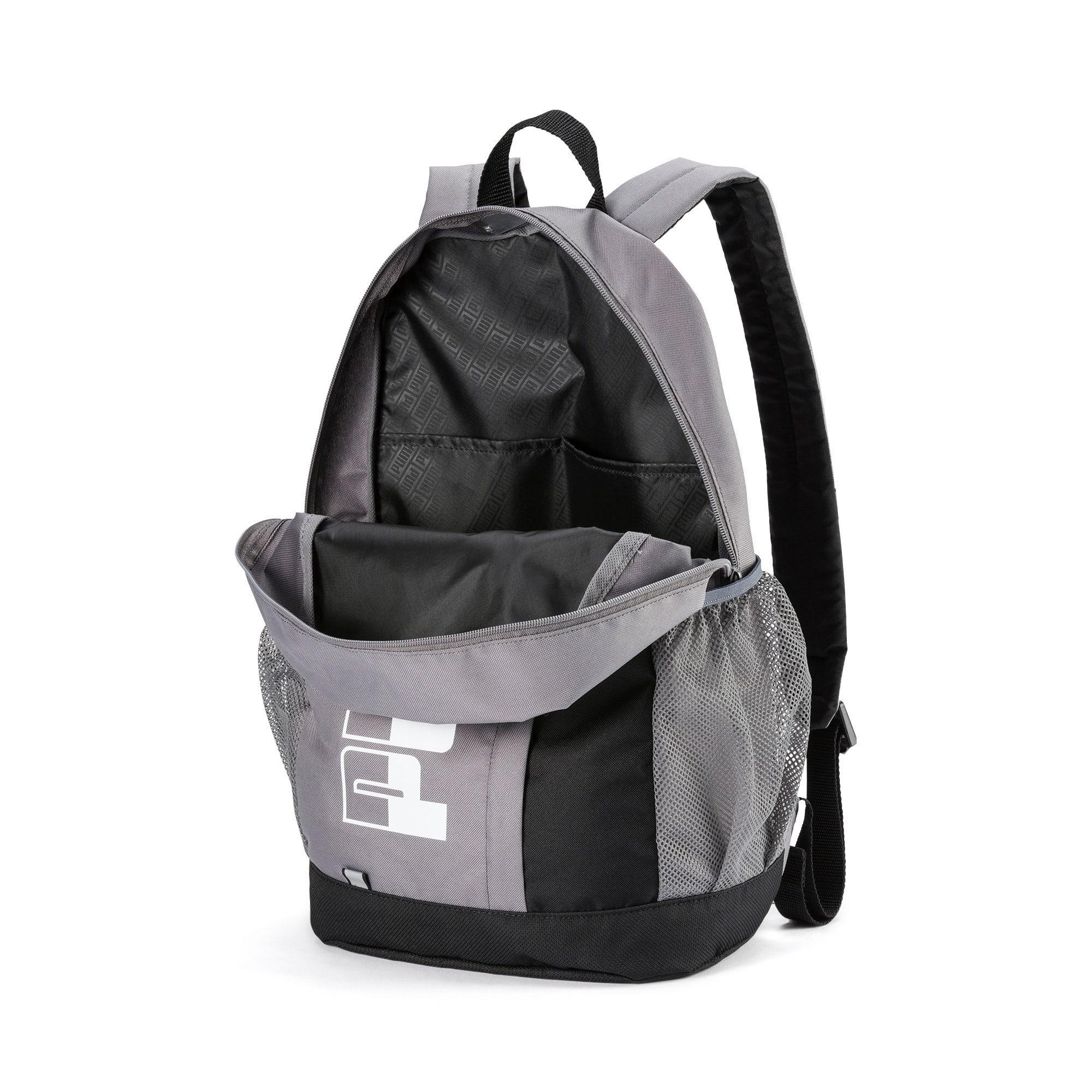 Thumbnail 3 of PUMA Plus Backpack II, CASTLEROCK-Puma Black, medium