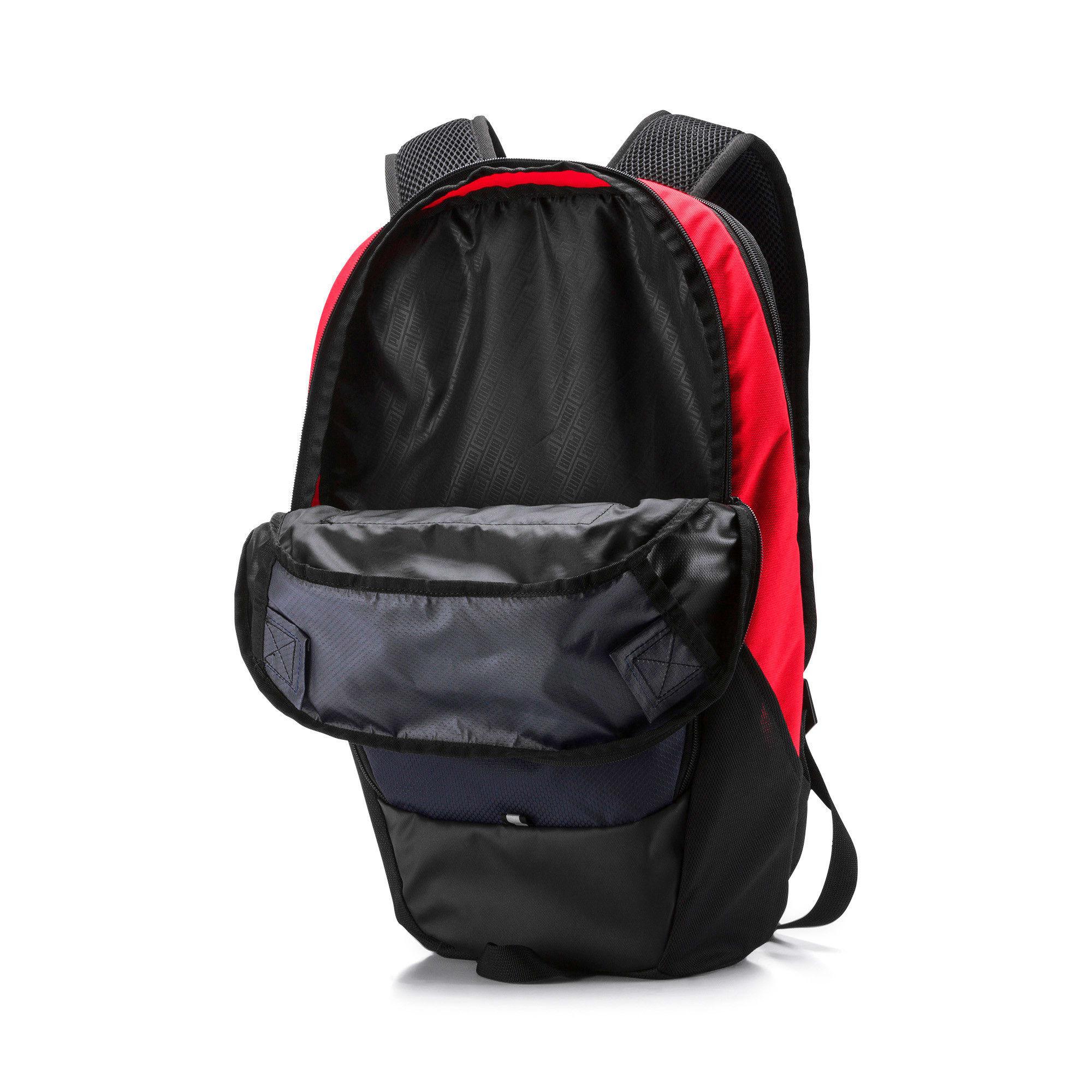 Thumbnail 4 of PUMA X Backpack, Peacoat-Puma Red-Puma Black, medium