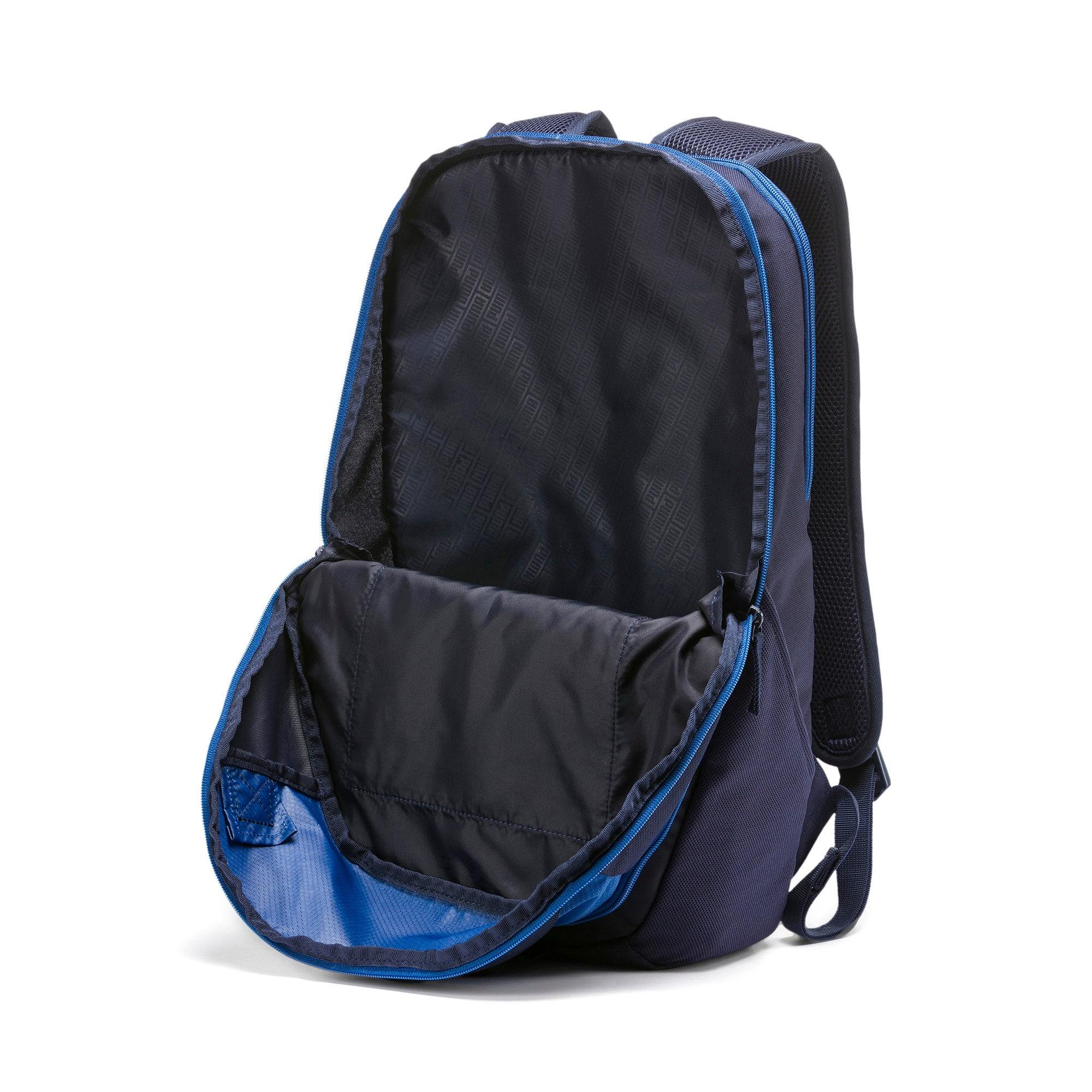 Thumbnail 3 of PUMA X Backpack, Peacoat-Galaxy Blue, medium