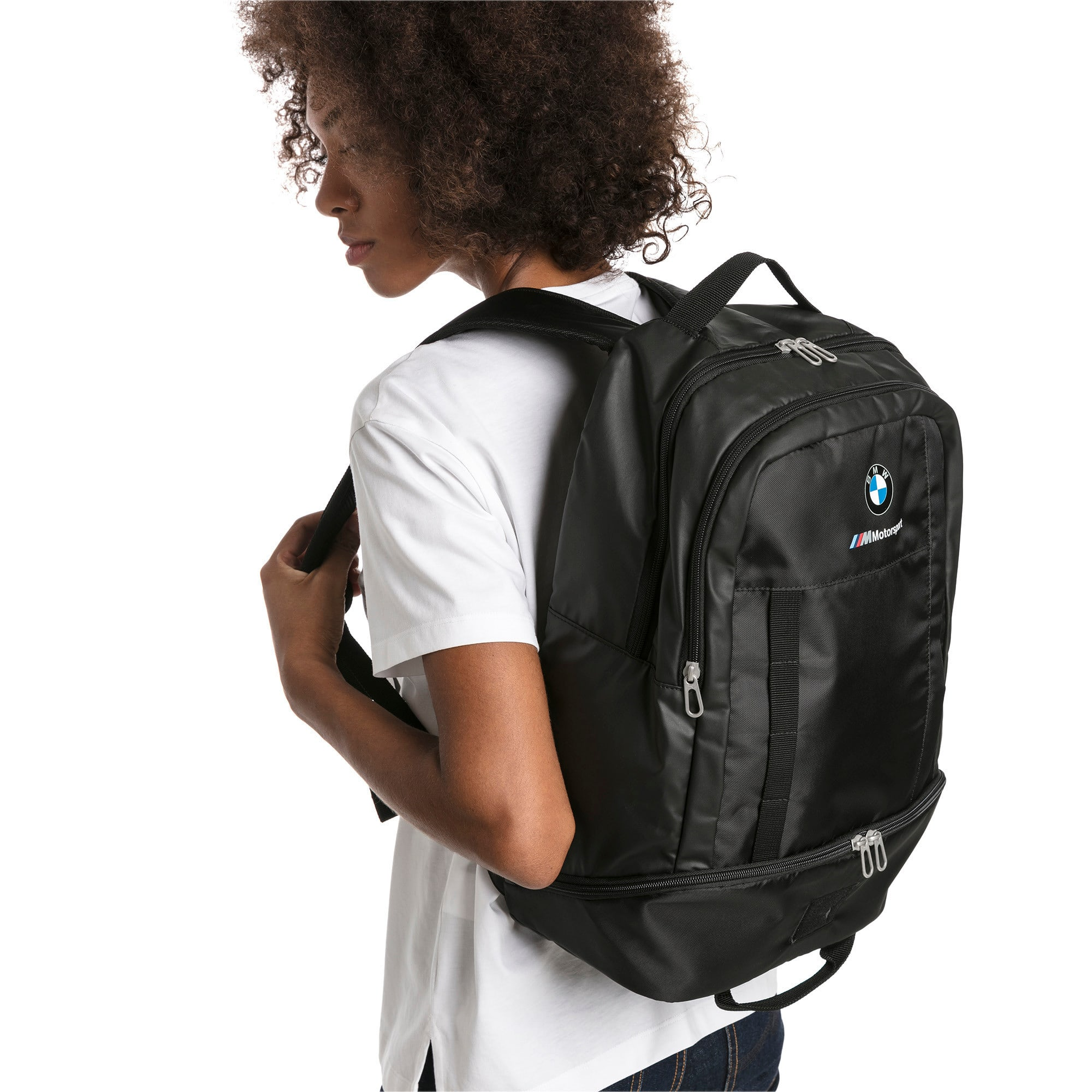 Thumbnail 3 of BMW M Motorsport RCT Backpack, Puma Black, medium