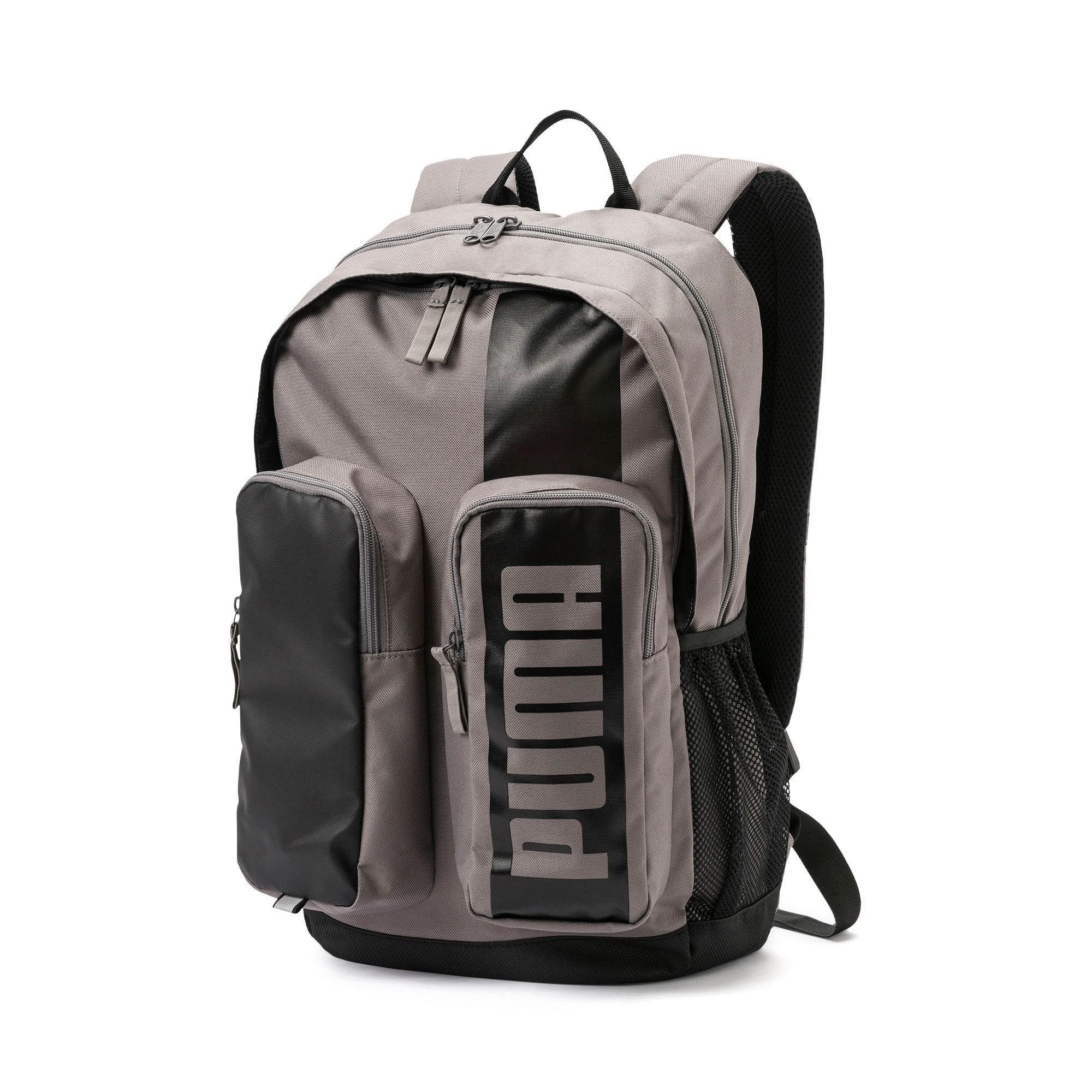 Thumbnail 1 of PUMA Deck Backpack II, Charcoal Gray, medium