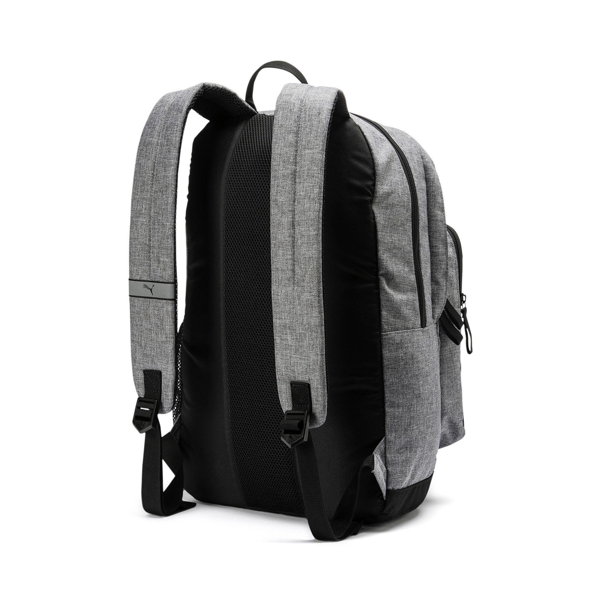 Thumbnail 3 of PUMA Deck Backpack II, Medium Gray Heather, medium