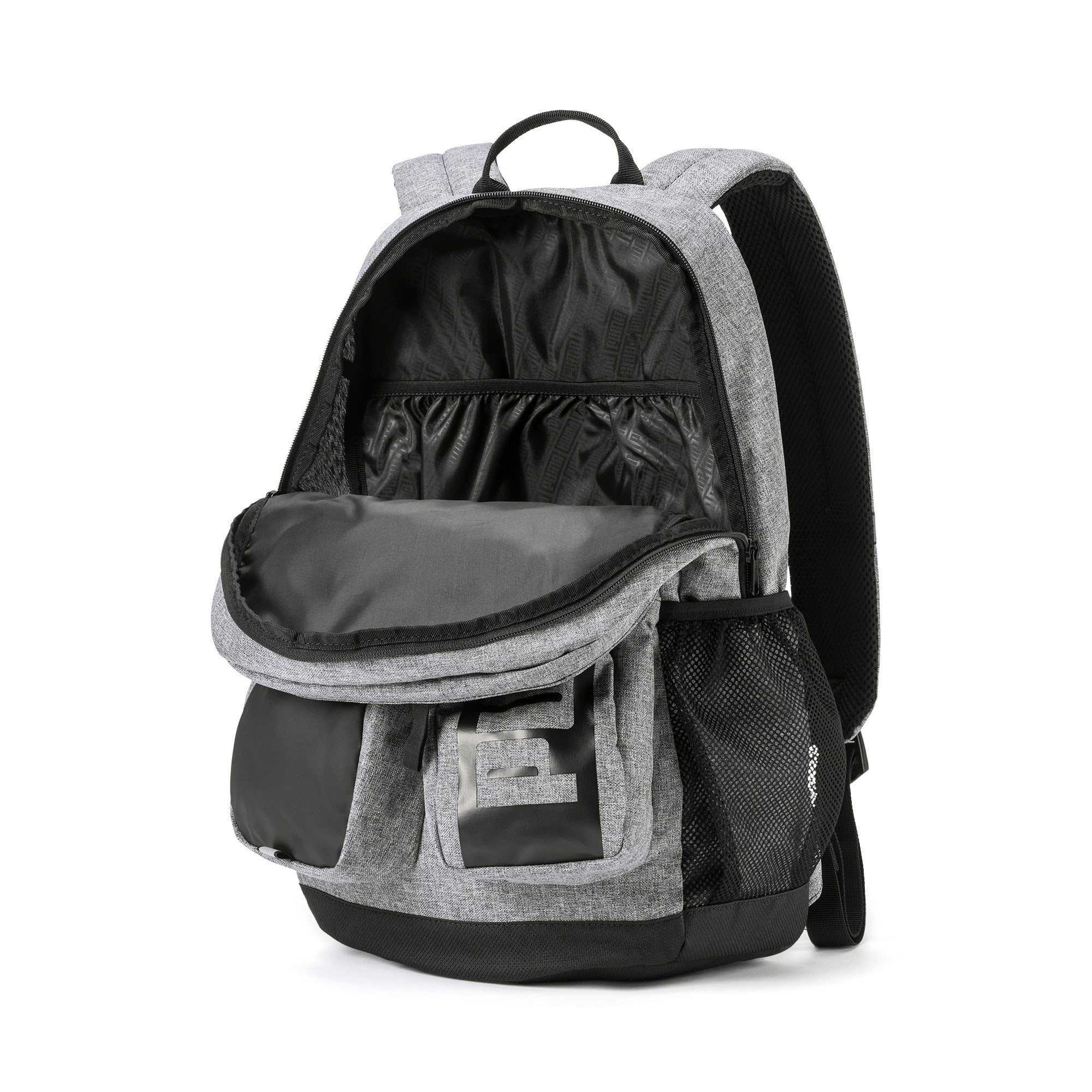 Thumbnail 4 of PUMA Deck Backpack II, Medium Gray Heather, medium