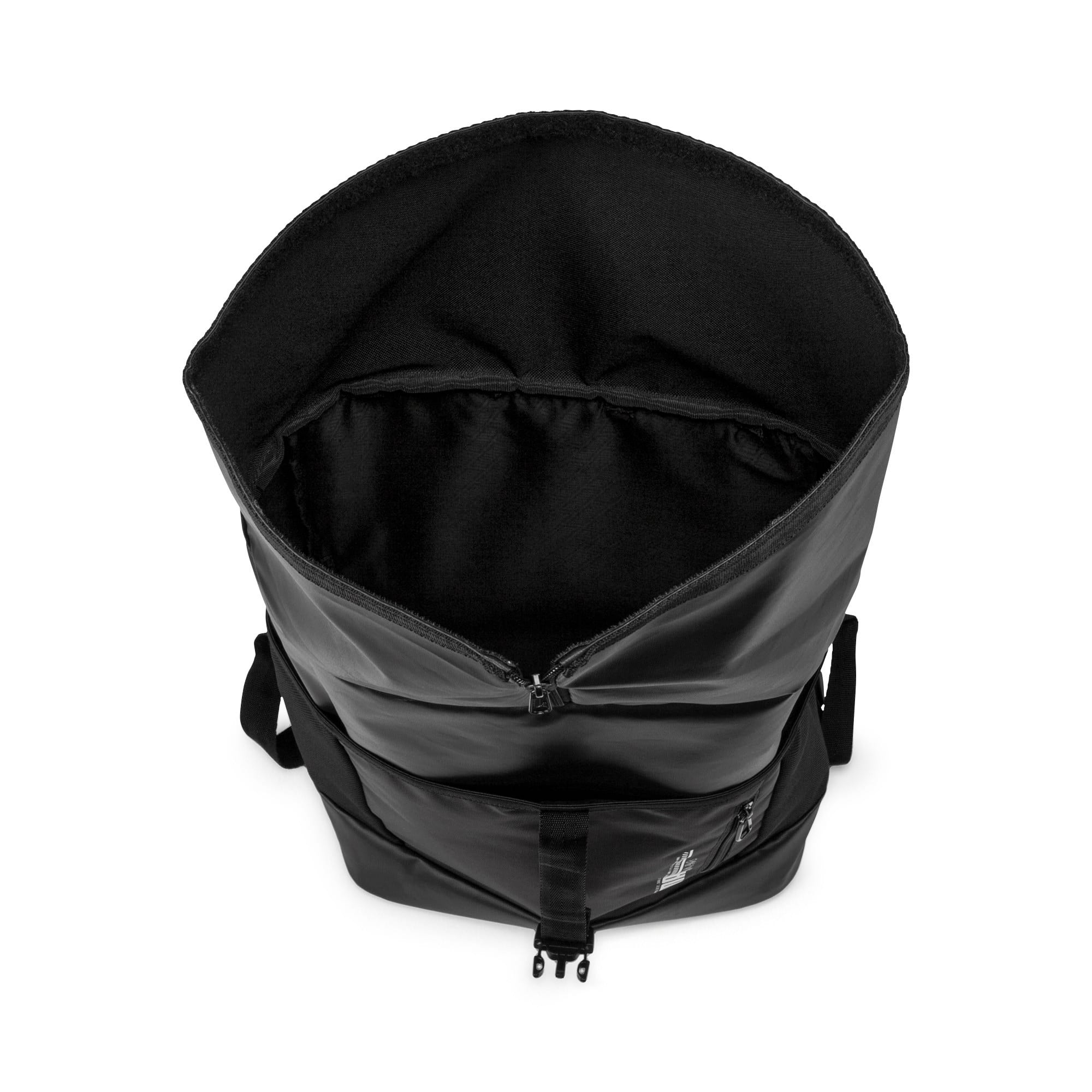 Thumbnail 4 of Energy Rolltop Backpack, Puma Black, medium