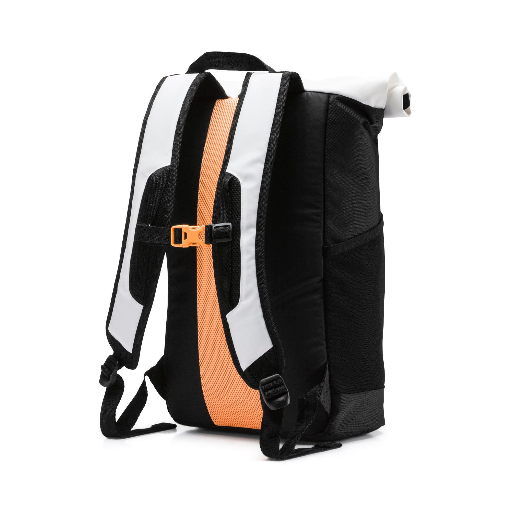 Thumbnail 2 of Energy Rolltop Backpack, Puma White, medium