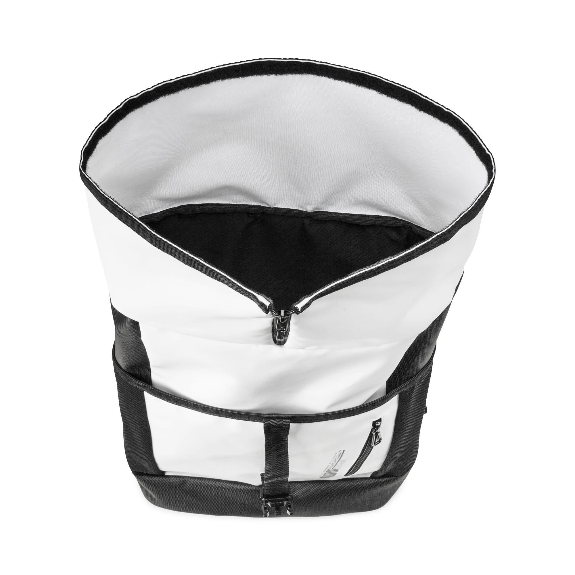Thumbnail 3 of Energy Rolltop Backpack, Puma White, medium