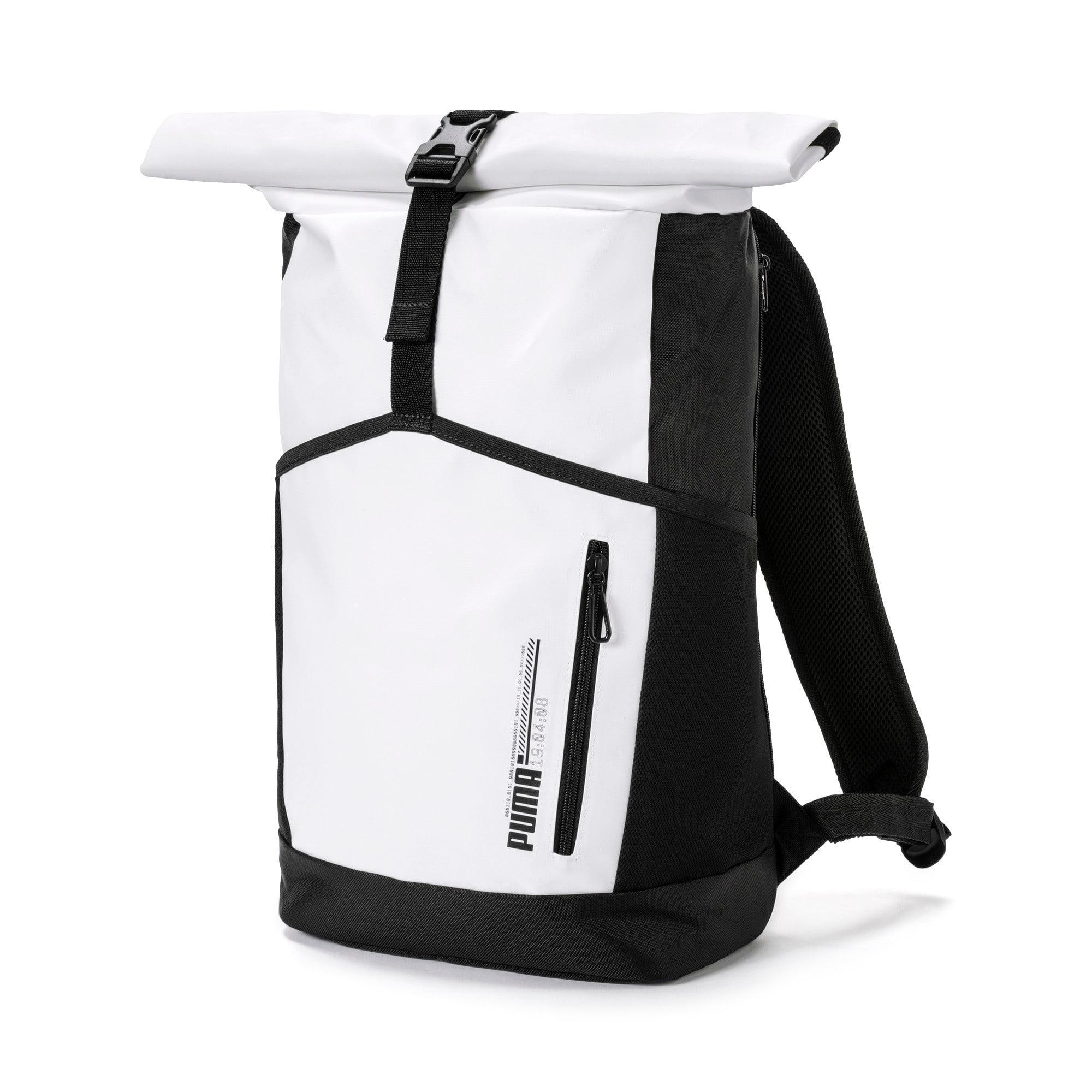 Thumbnail 1 of Energy Rolltop Backpack, Puma White, medium