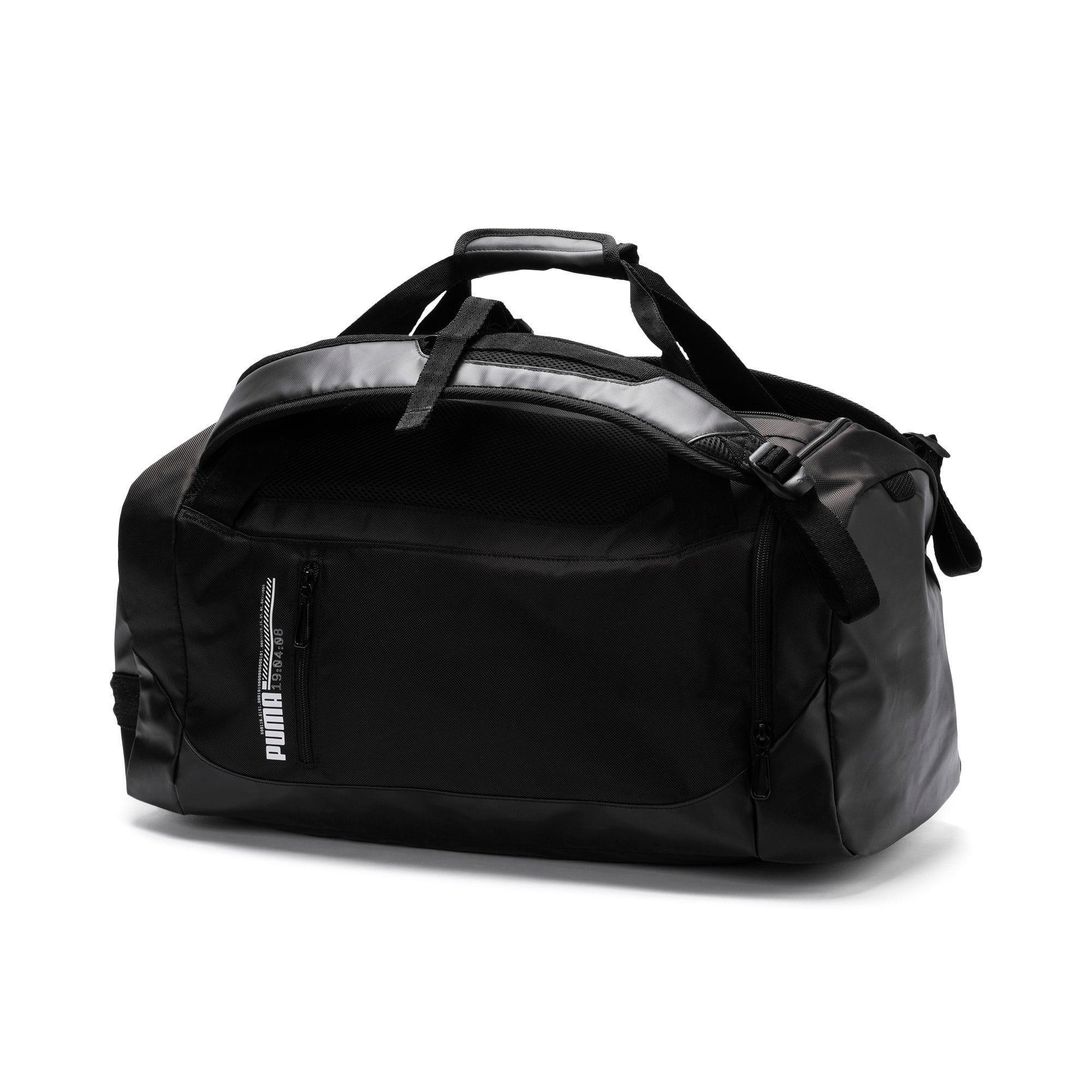 Thumbnail 1 of Energy 2-way Duffel Bag, Puma Black, medium