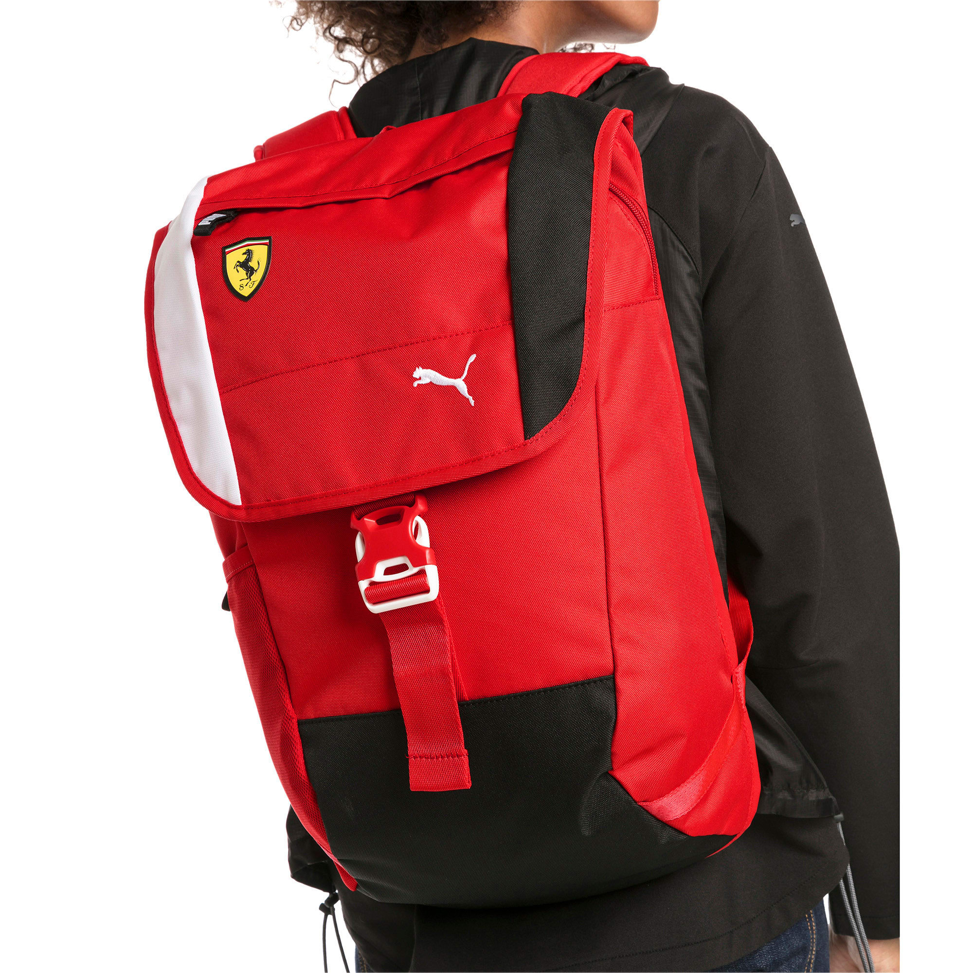 Thumbnail 3 of Ferrari Fanwear Backpack, Rosso Corsa, medium