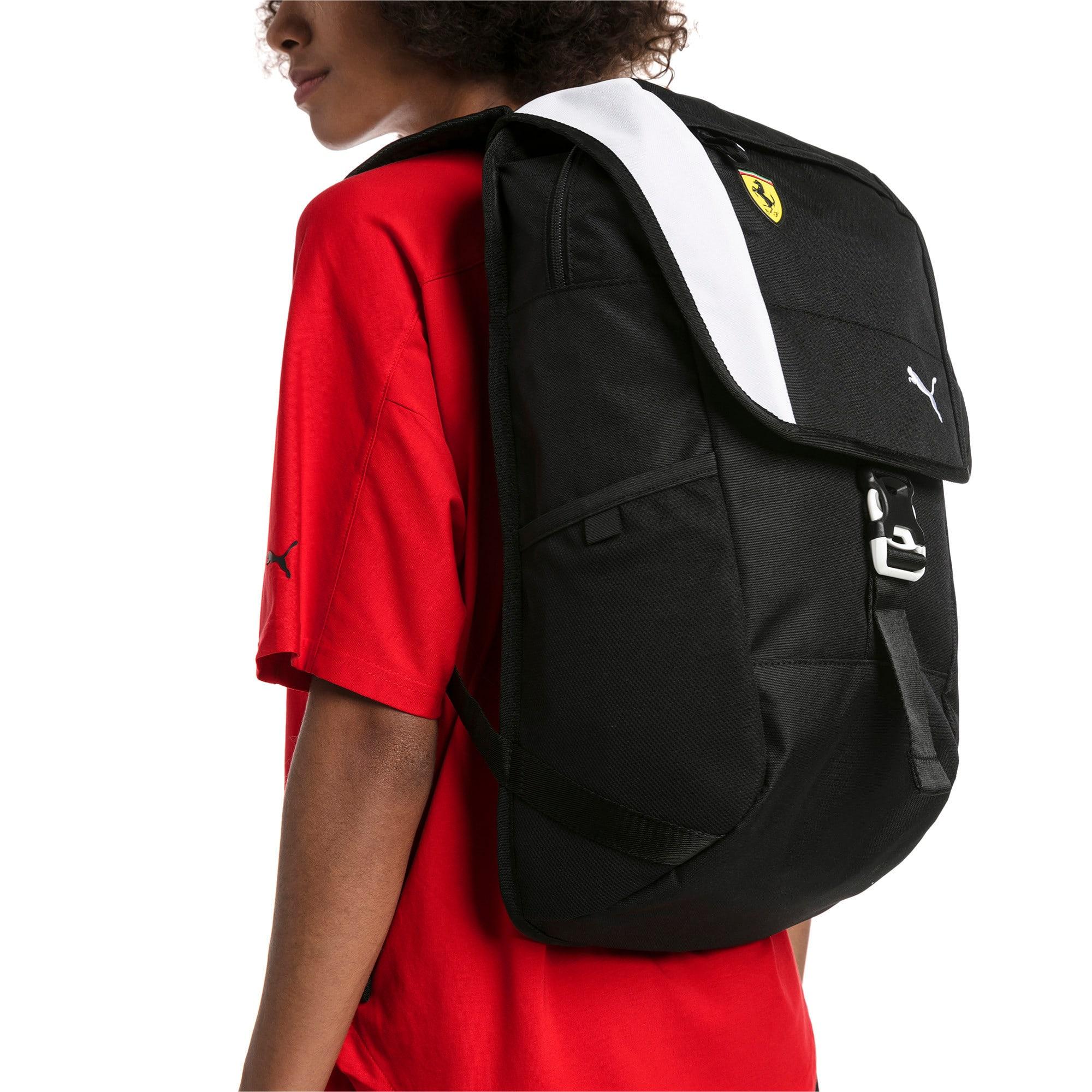 Thumbnail 3 of Scuderia Ferrari Fanwear Backpack, Puma Black, medium