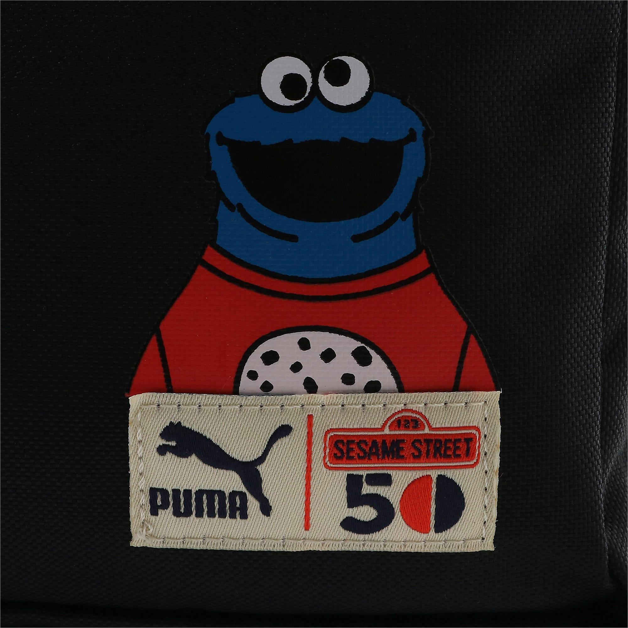 Thumbnail 4 of キッズ PUMA x SESAME STREET バックパック スポーツ 20L, Puma Black, medium-JPN