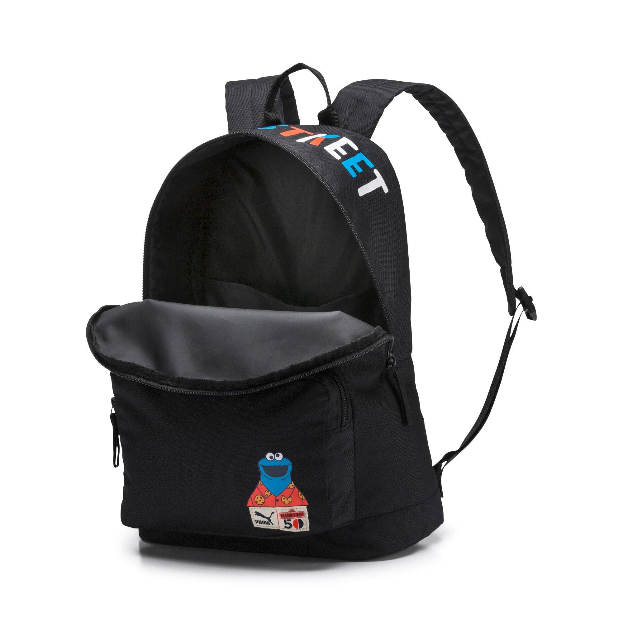Thumbnail 3 of Sesame Street Kids' Backpack, Puma Black, medium