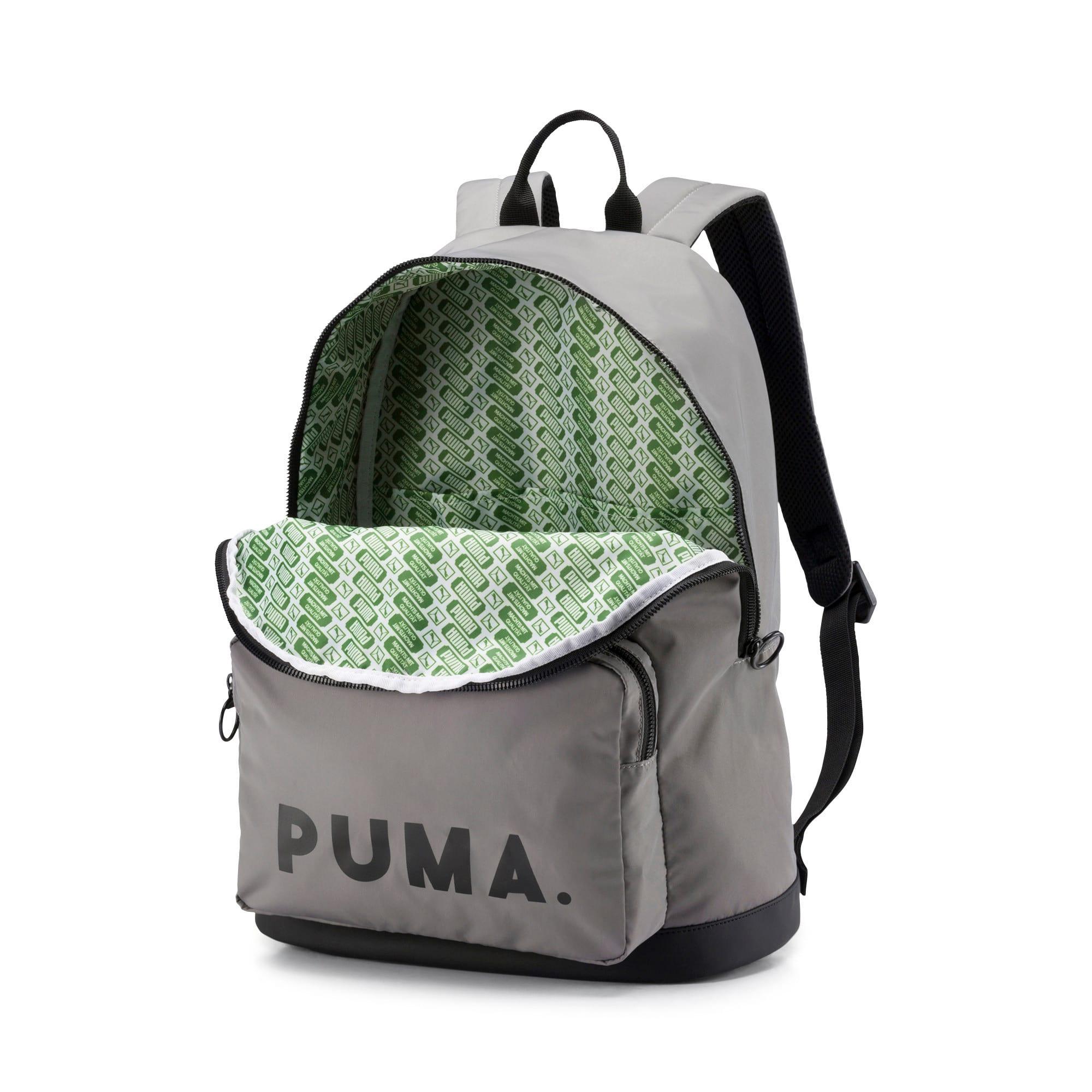 Thumbnail 3 of Originals Backpack Trend, Steel Gray-Puma Black, medium