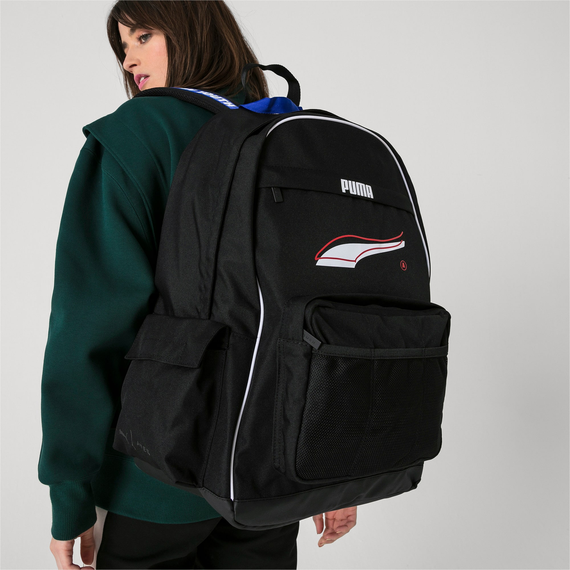 Thumbnail 5 of PUMA x ADER ERROR Backpack, Puma Black, medium