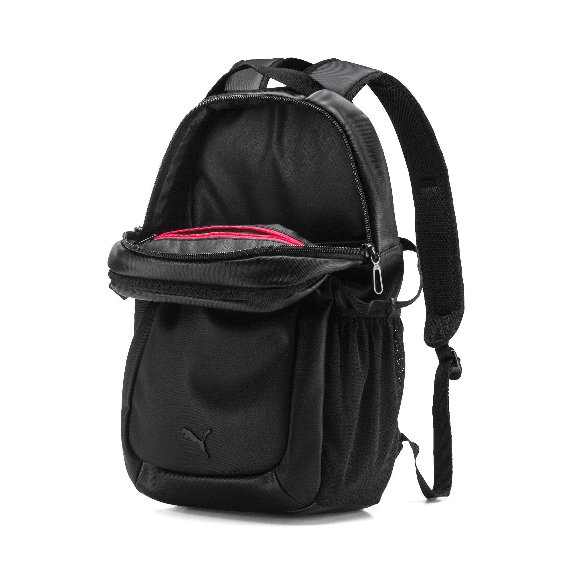 Thumbnail 3 of Scuderia Ferrari Lifestyle Backpack, Puma Black, medium