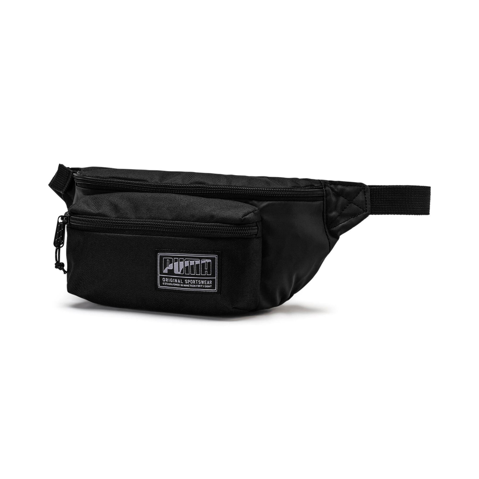 Thumbnail 1 of PUMA Academy Waist Bag, Puma Black, medium
