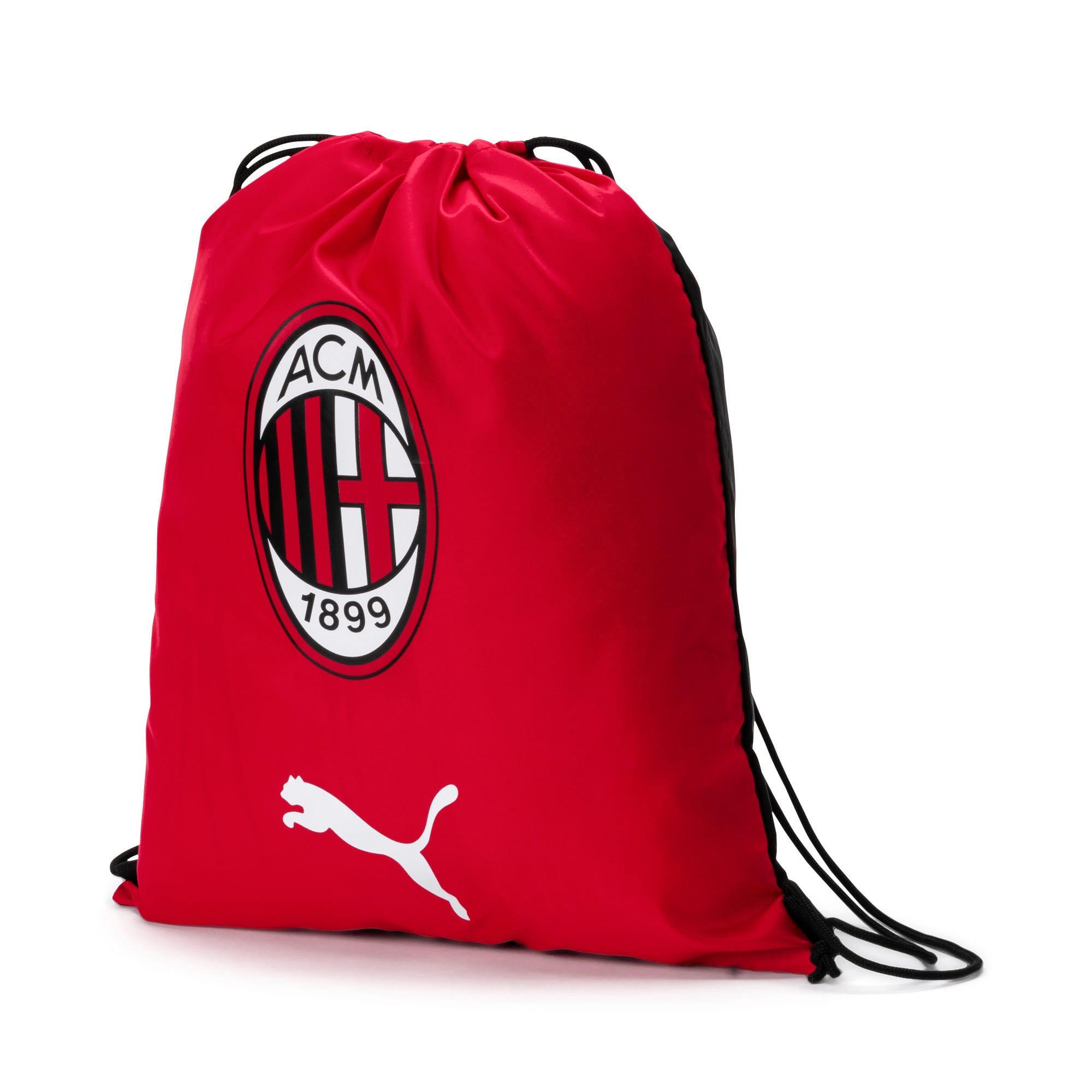 Thumbnail 1 of AC Milan Gym Sack, Tango Red-Puma Black, medium