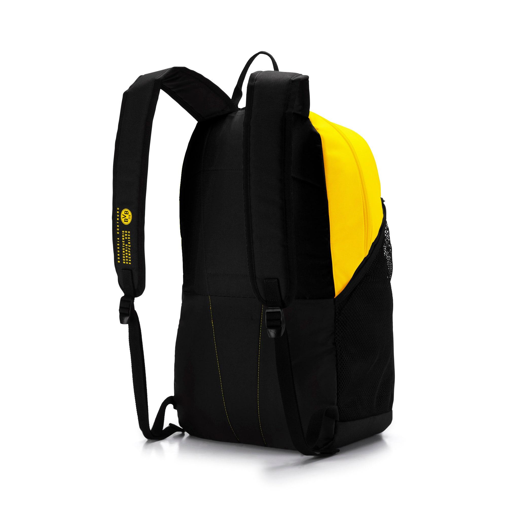 Miniatura 2 de MochilaBVB Fan, Puma Black-Cyber Yellow, mediano