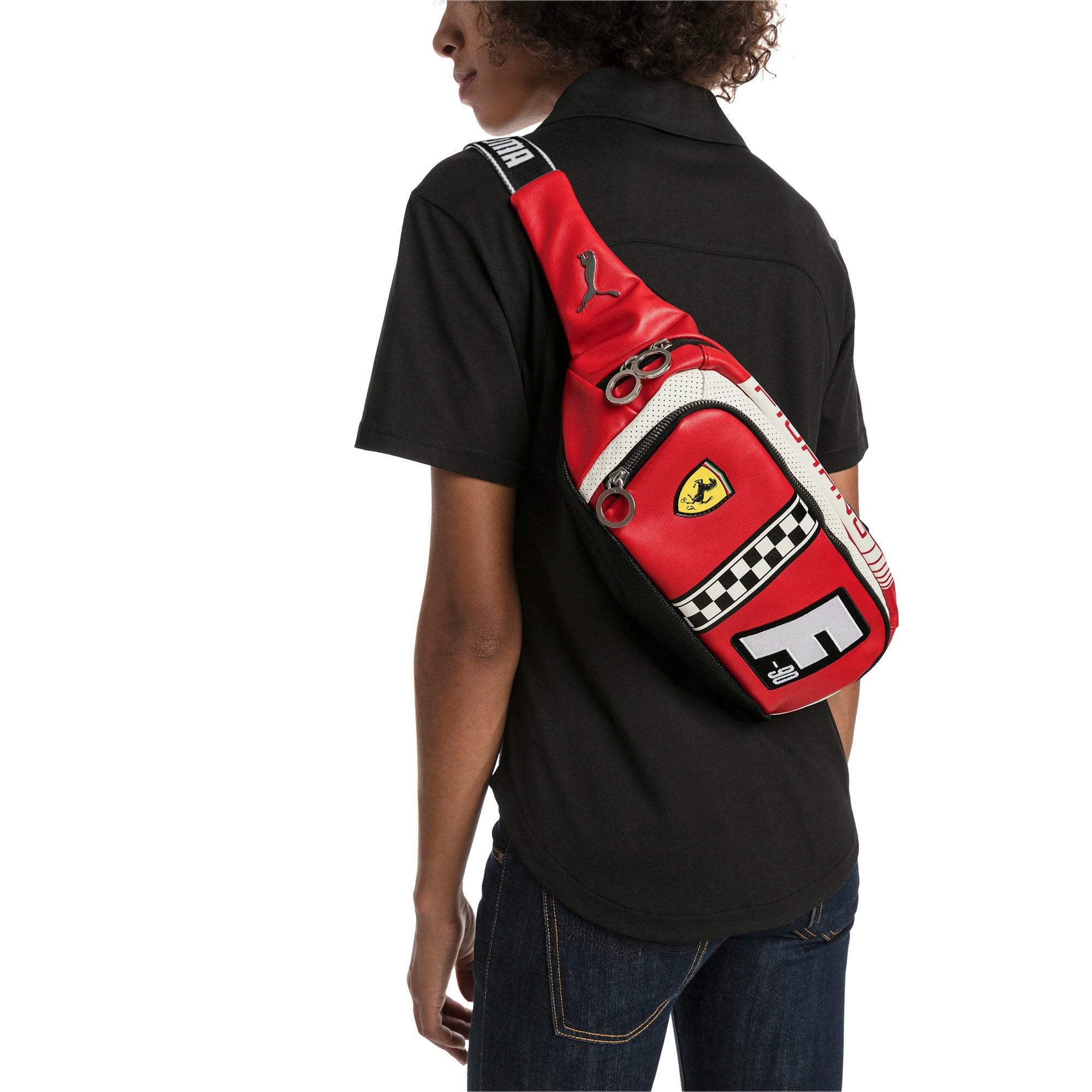 Thumbnail 2 of Scuderia Ferrari Fanwear Waist Bag, Rosso Corsa, medium