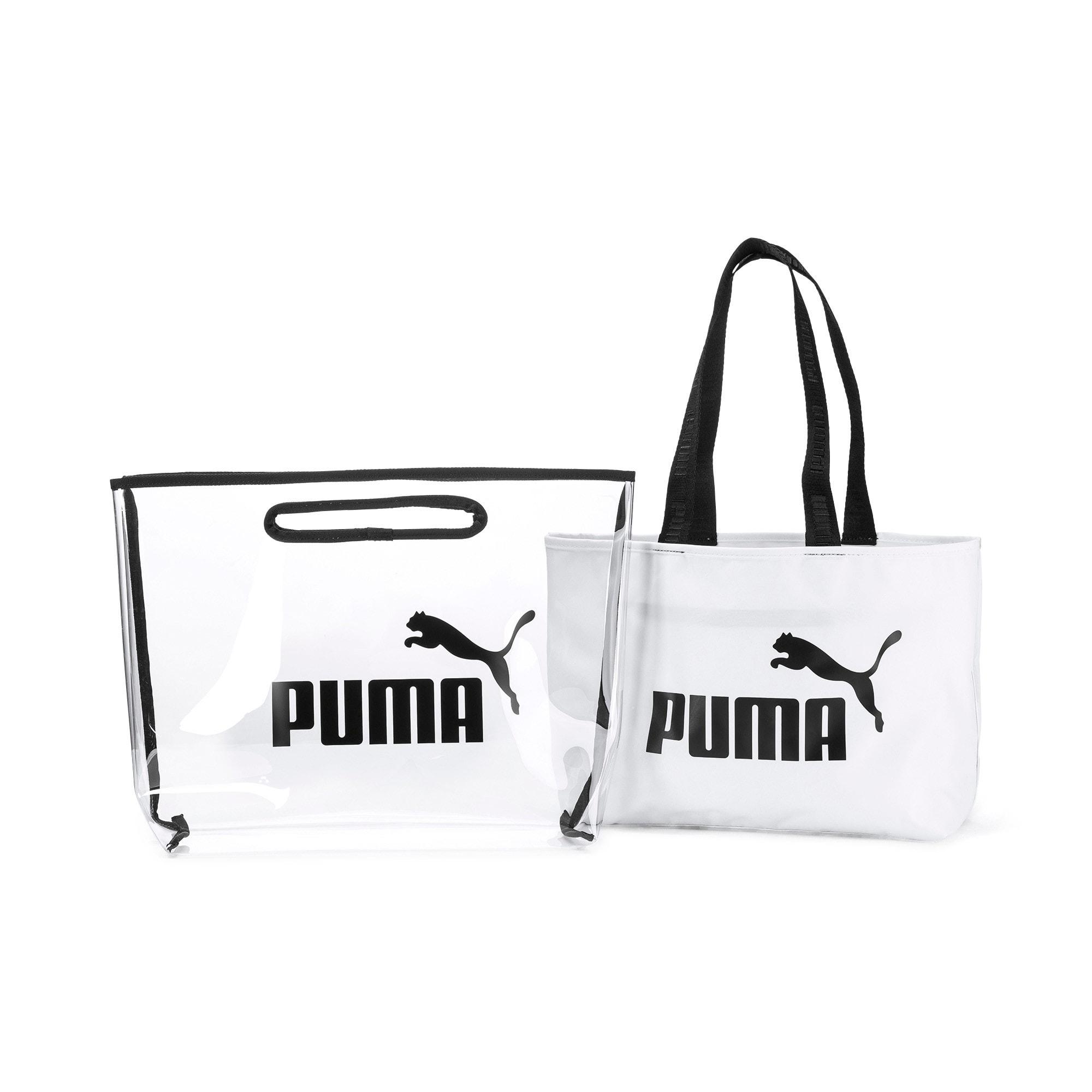 Thumbnail 3 of Women's Twin Shopper, Puma White, medium