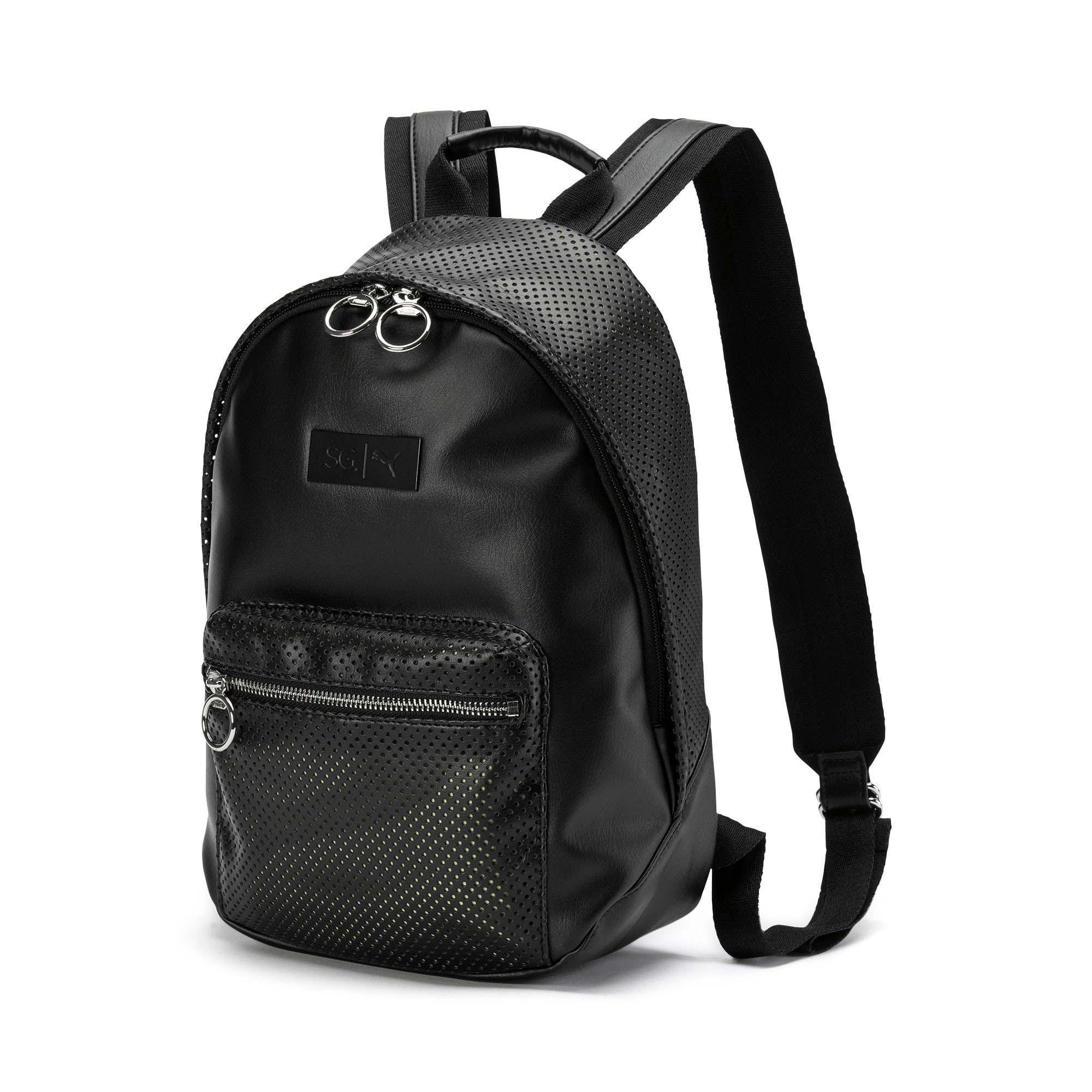 Thumbnail 1 of SG x PUMA Style Backpack, Puma Black, medium