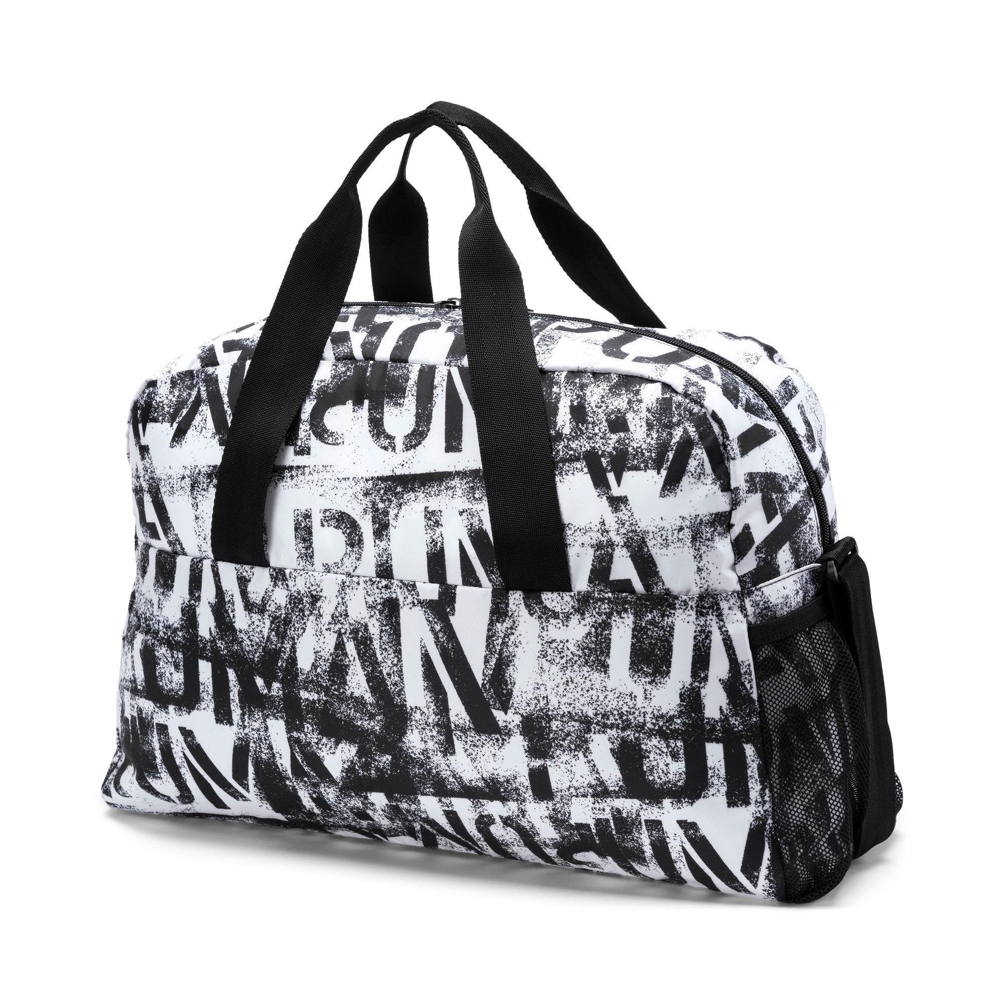Thumbnail 3 of AT ESS Grip Bag, Puma White-Puma Black-AOP, medium