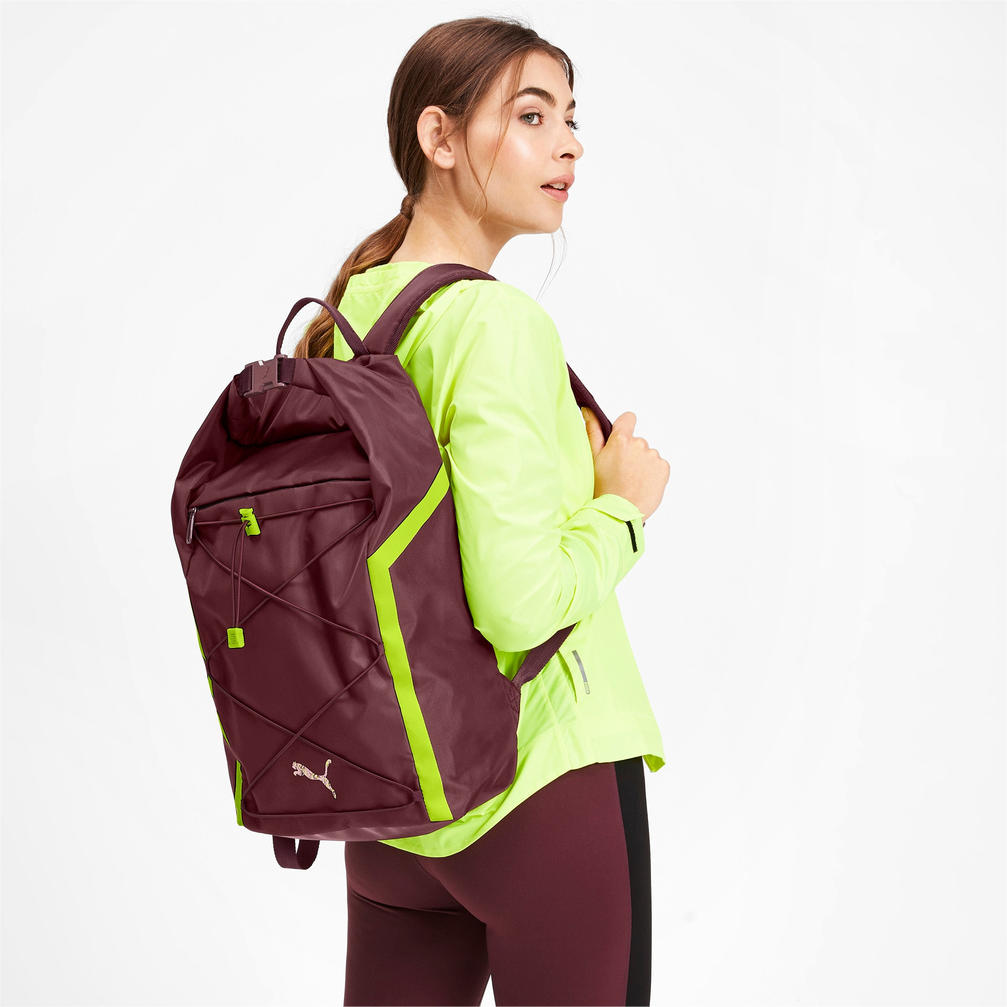 Thumbnail 2 of Active Training Shift Women's Backpack, Vineyard Wine, medium