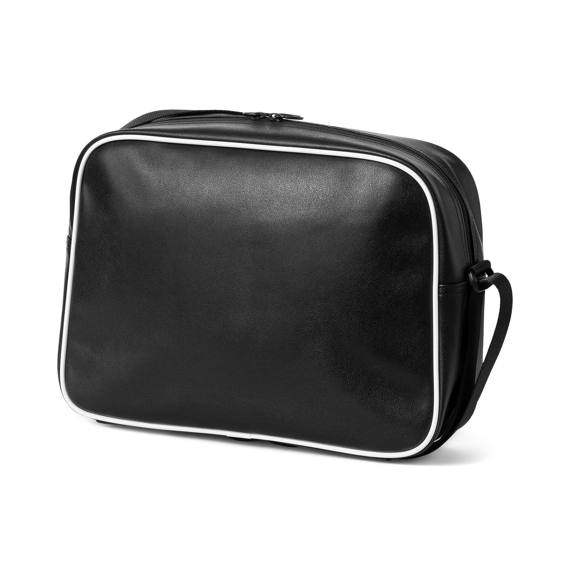 Thumbnail 3 of Campus Reporter Retro Shoulder Bag, Puma Black, medium