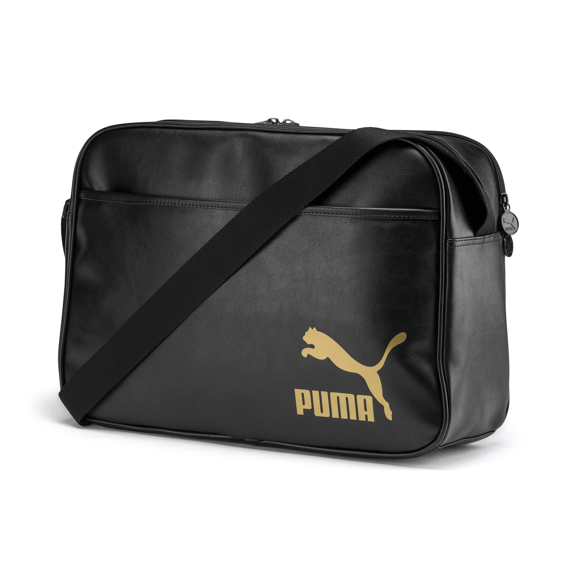 Thumbnail 1 of Originals Retro Reporter Bag, Puma Black, medium