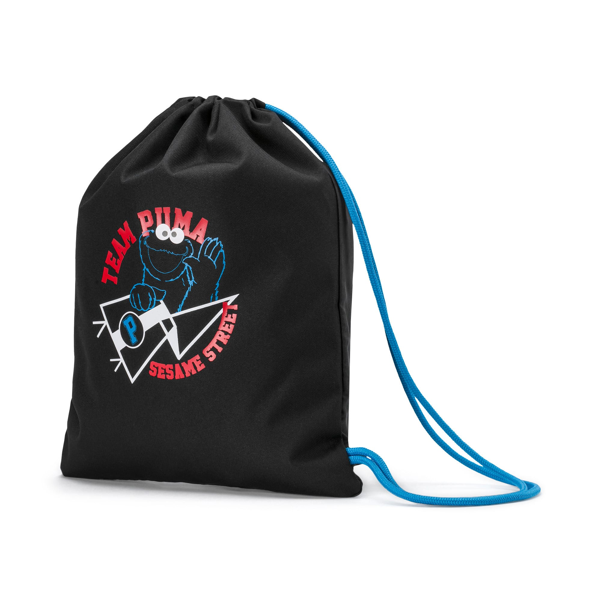 Thumbnail 1 of PUMA x SESAME STREET Kids' Sport Sack, Puma Black, medium