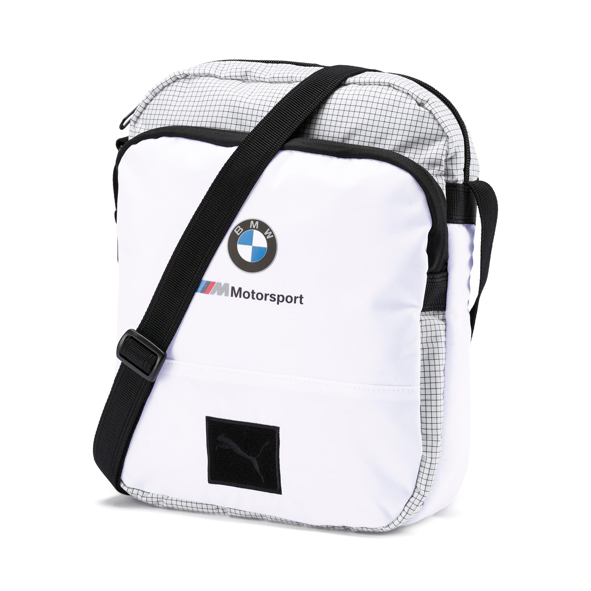 Thumbnail 1 of BMW M Motorsport Portable Bag, Puma White, medium