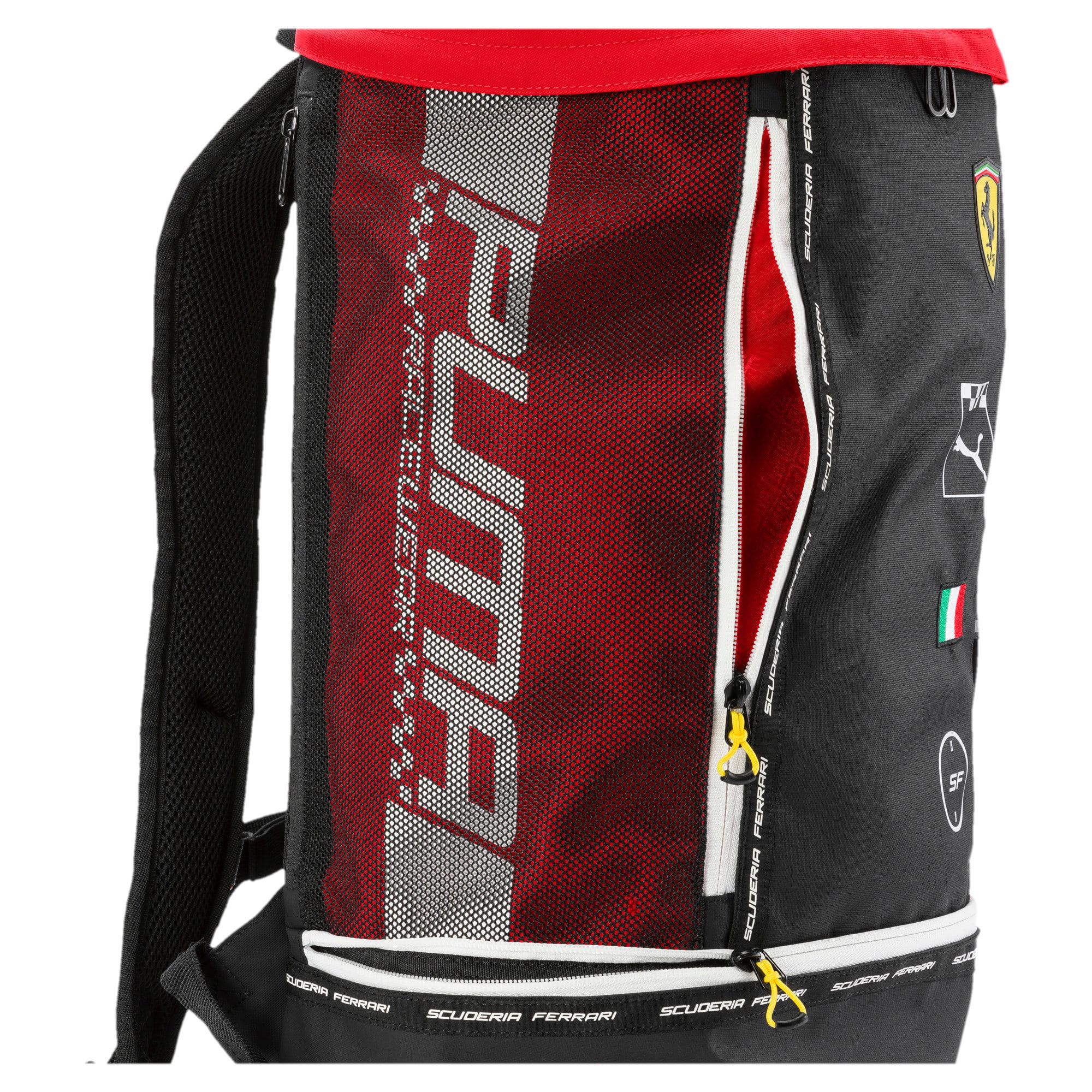 Thumbnail 4 of Scuderia Ferrari Fanwear RCT Backpack, Rosso Corsa, medium