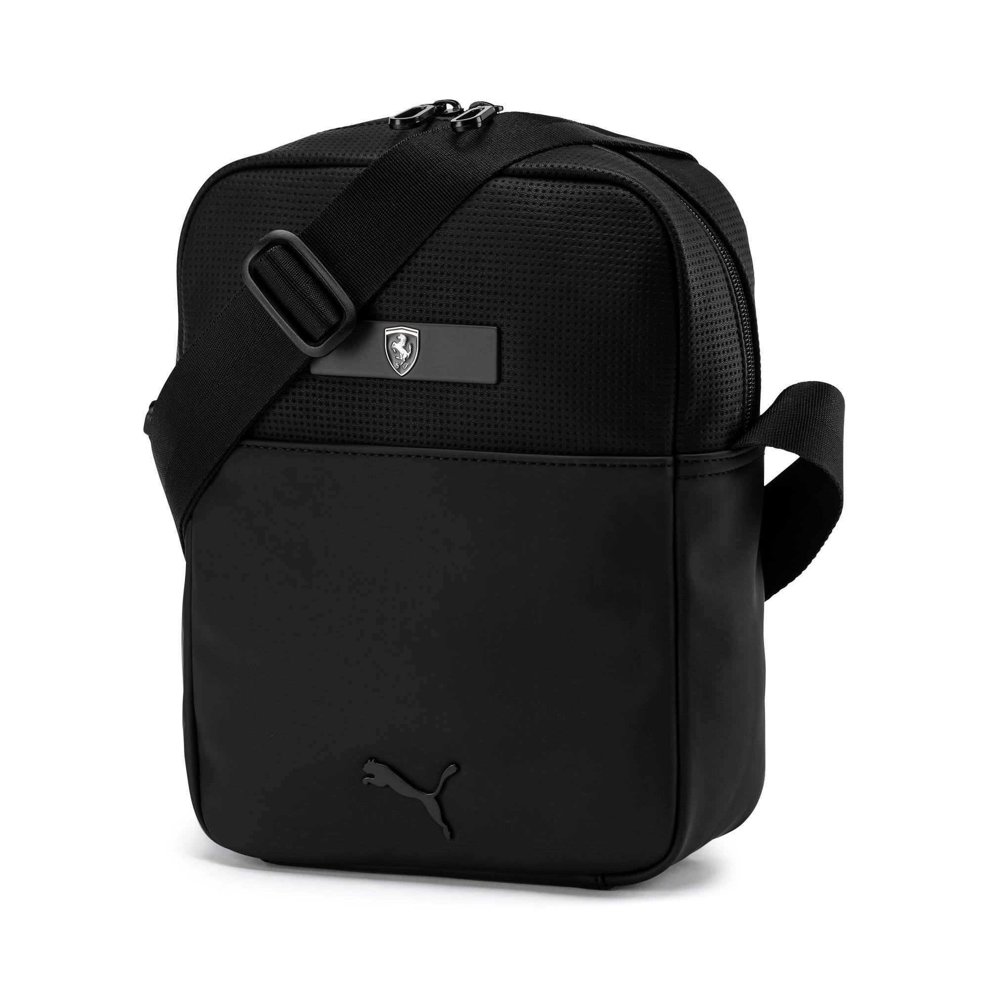 Thumbnail 1 of Scuderia Ferrari Lifestyle Large Portable Bag, Puma Black, medium