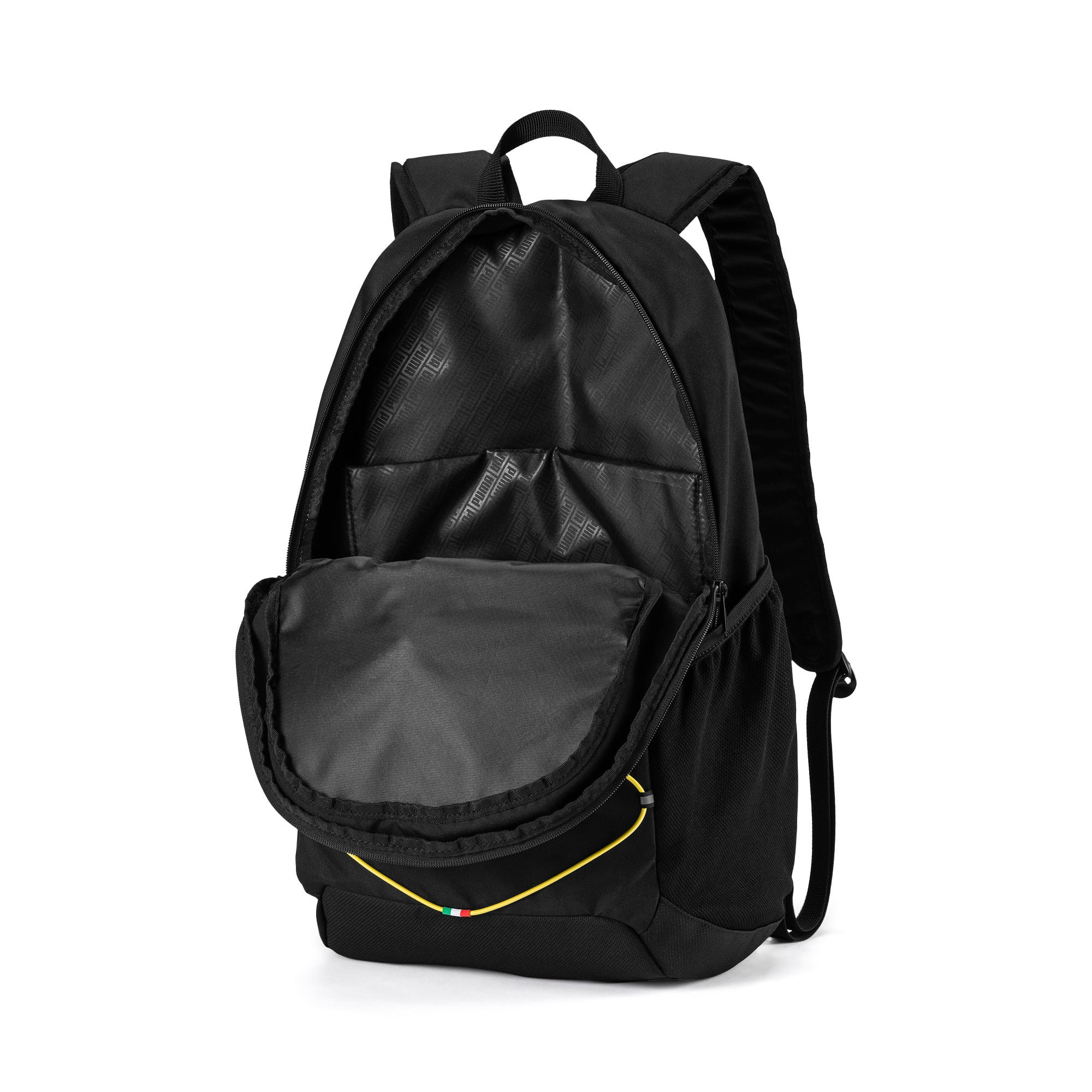 Thumbnail 3 of Ferrari Fanwear Backpack, Puma Black, medium